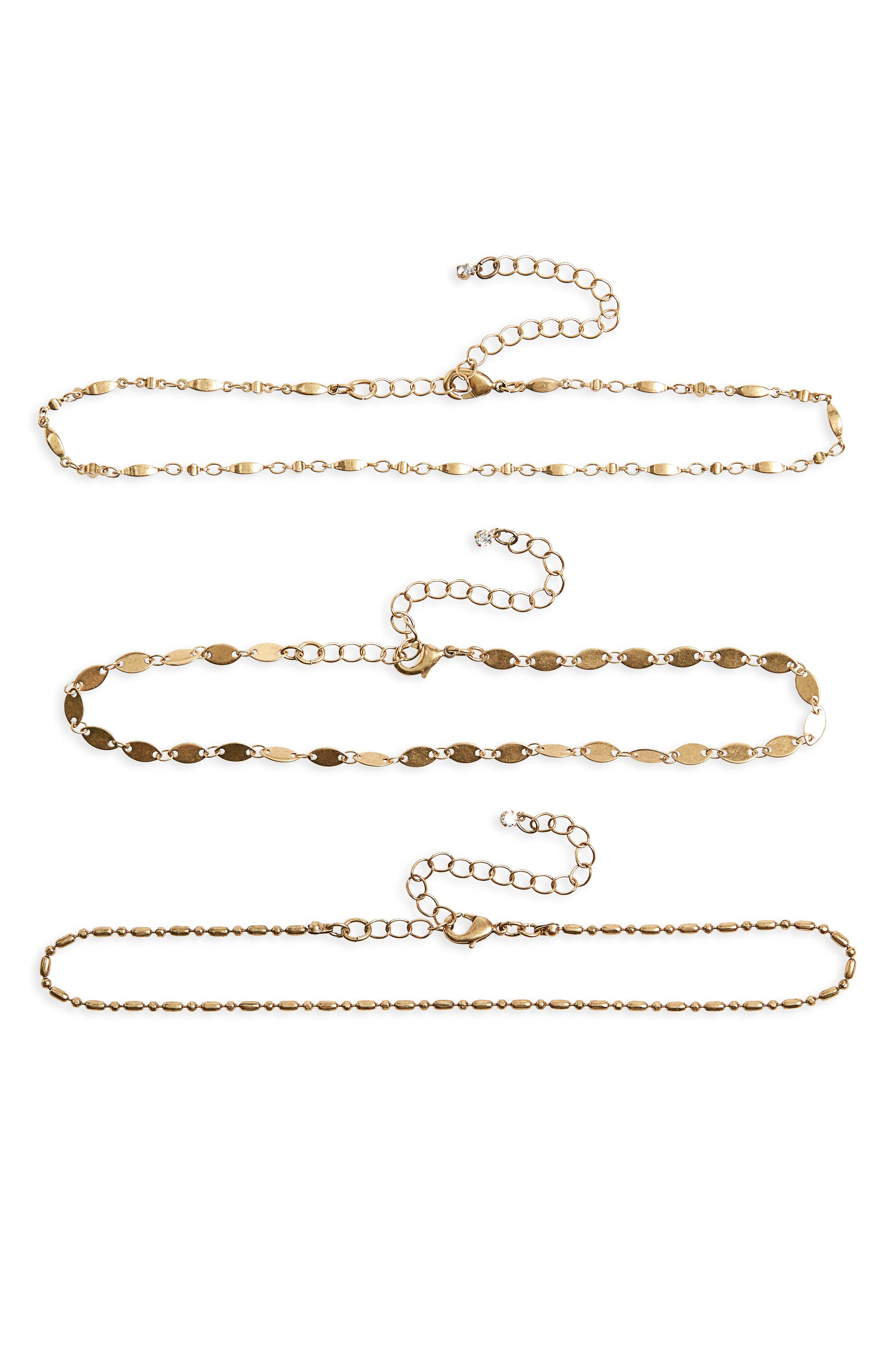 Main Image - Treasure & Bond Set of 3 Chokers