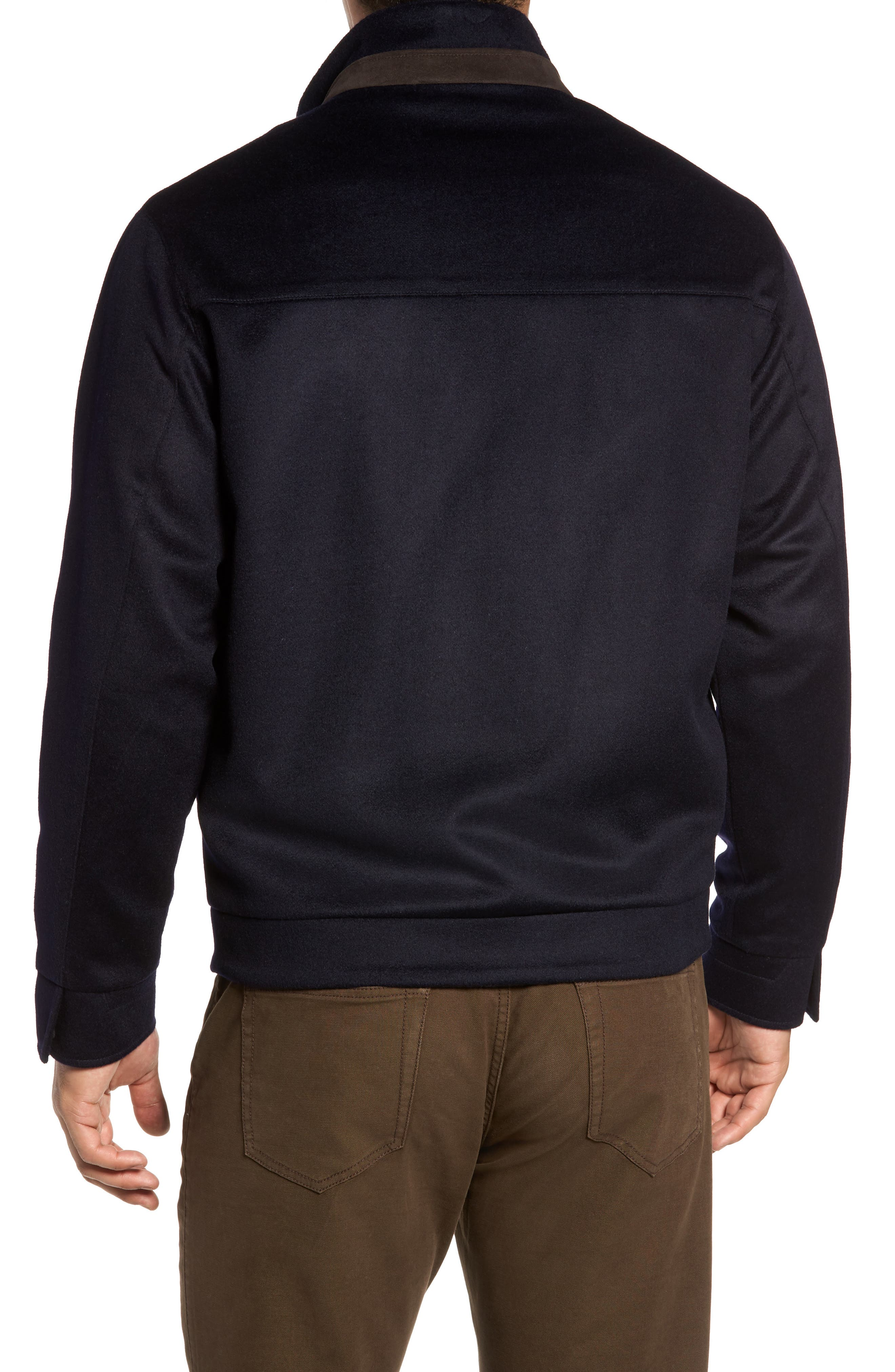 Alternate Image 2  - Peter Millar Westport Wool & Cashmere Jacket