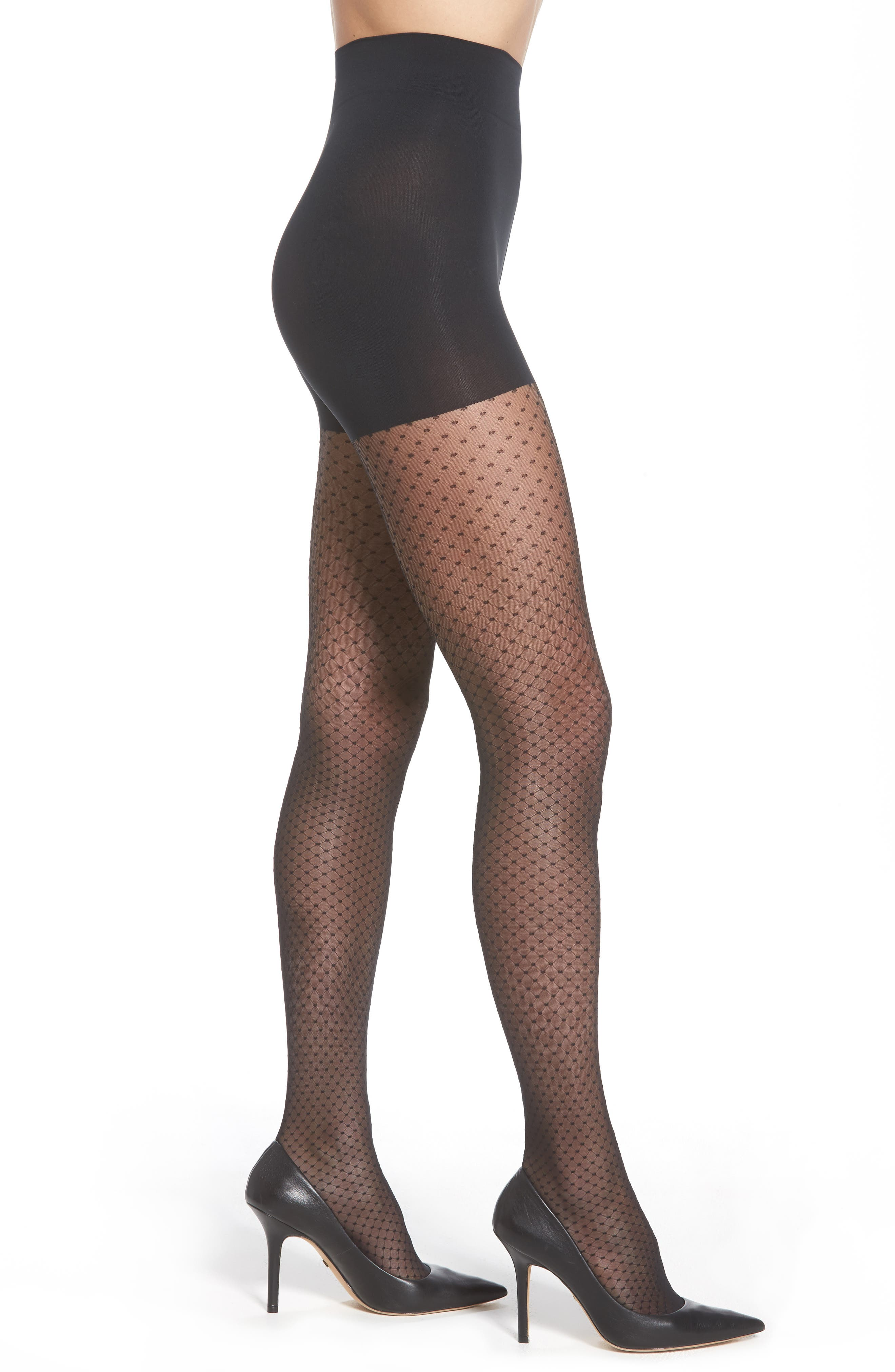 Alternate Image 1 Selected - Wolford Dots Control Tights