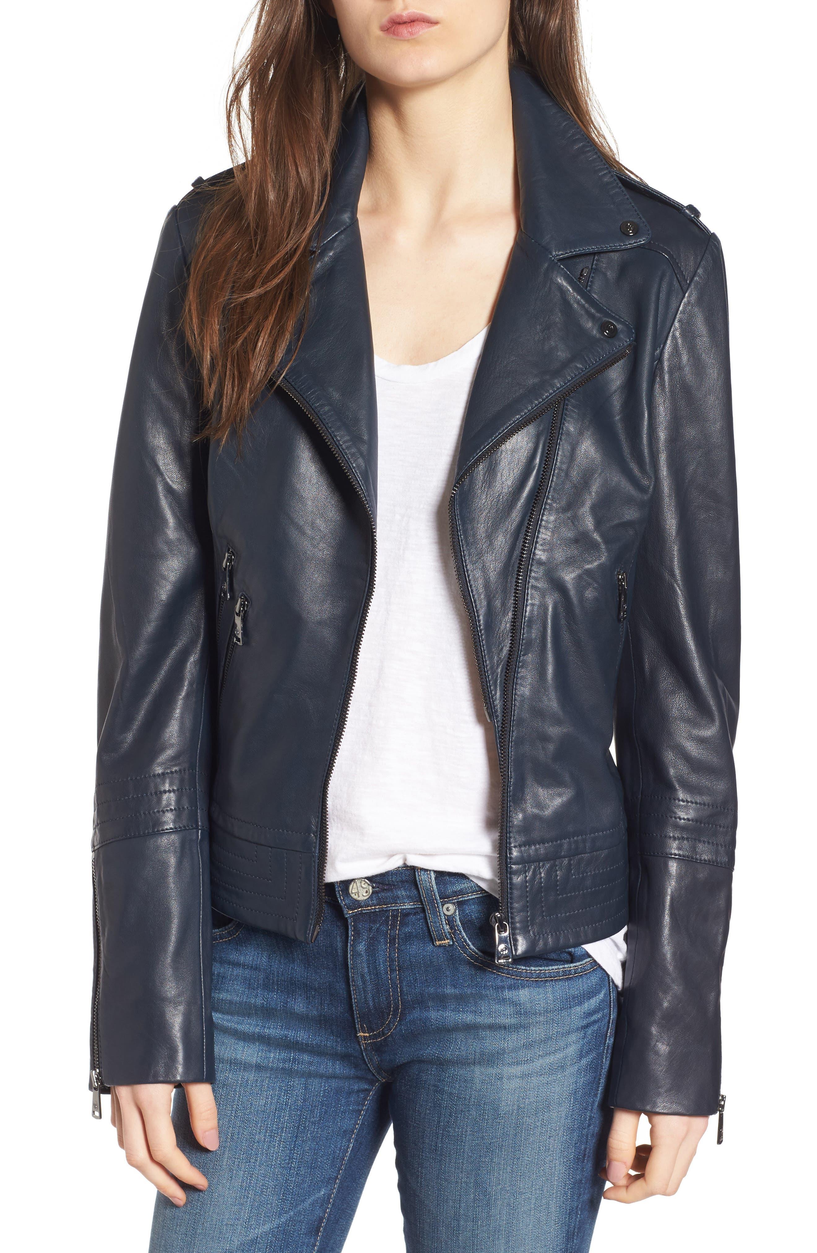 Alternate Image 1 Selected - Bernardo Lirio Moto Jacket