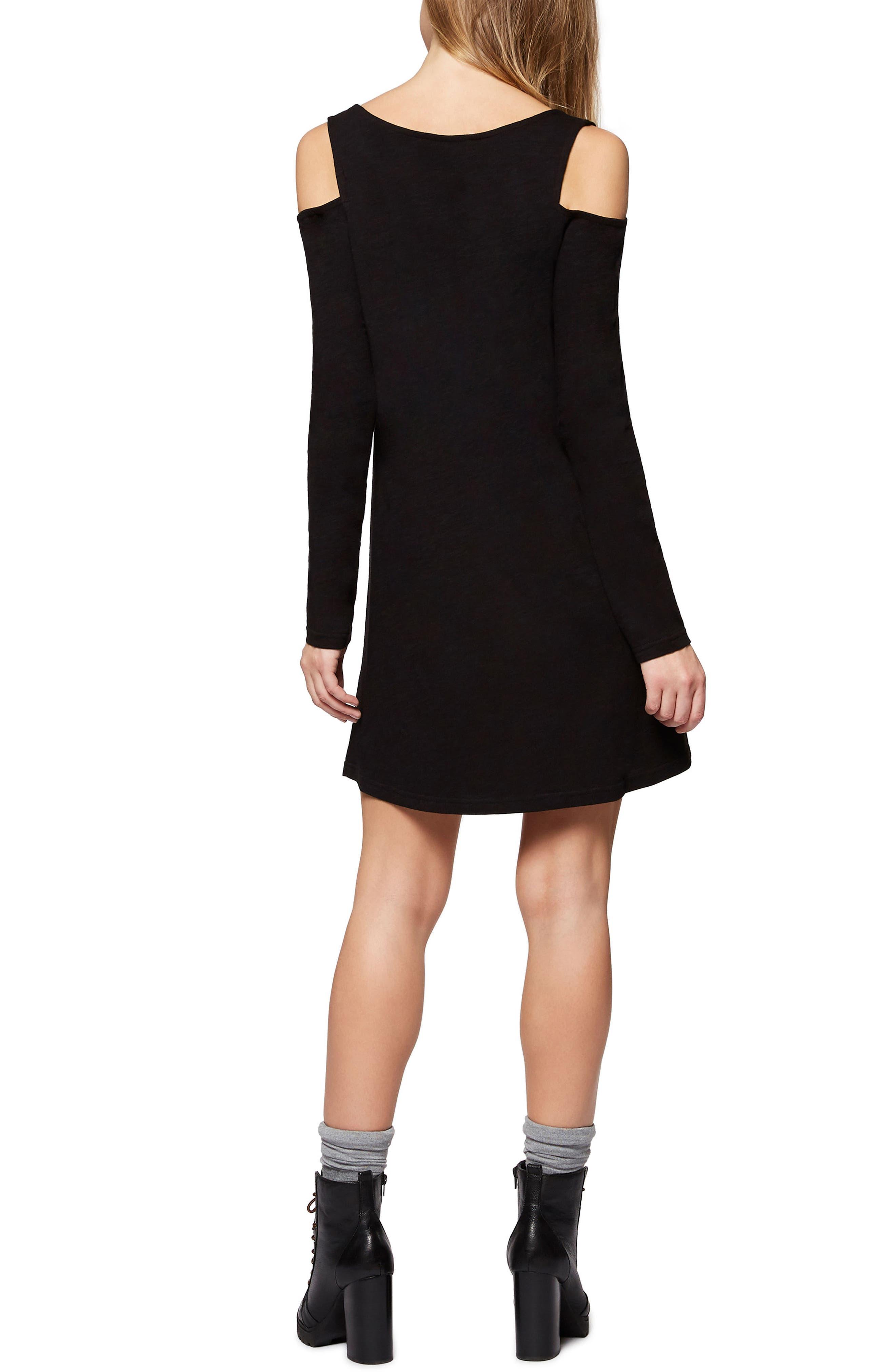 Alternate Image 3  - Sanctuary Morgan Cold Shoulder T-Shirt Dress