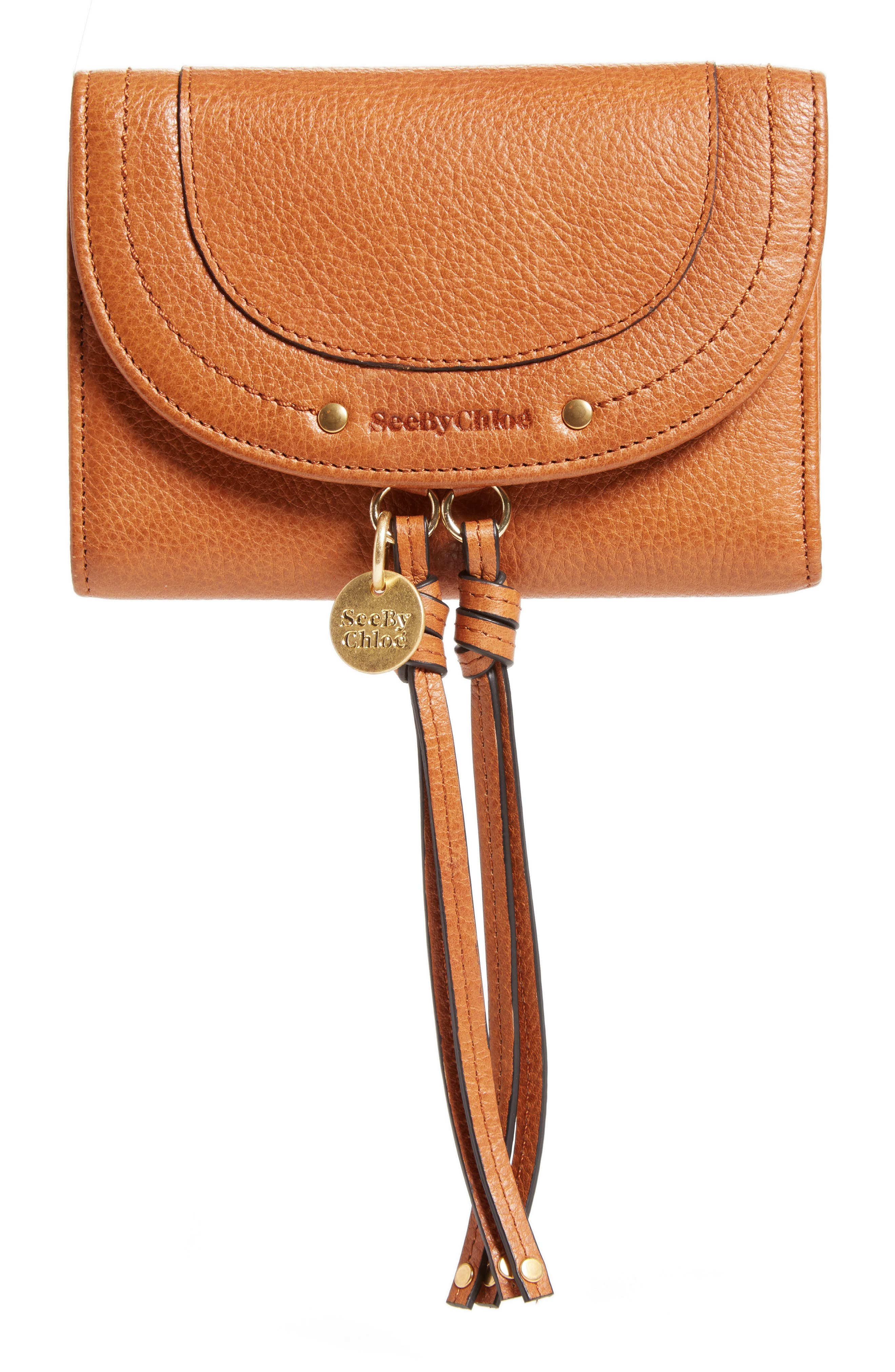 See by Chloé Compact Leather Wallet
