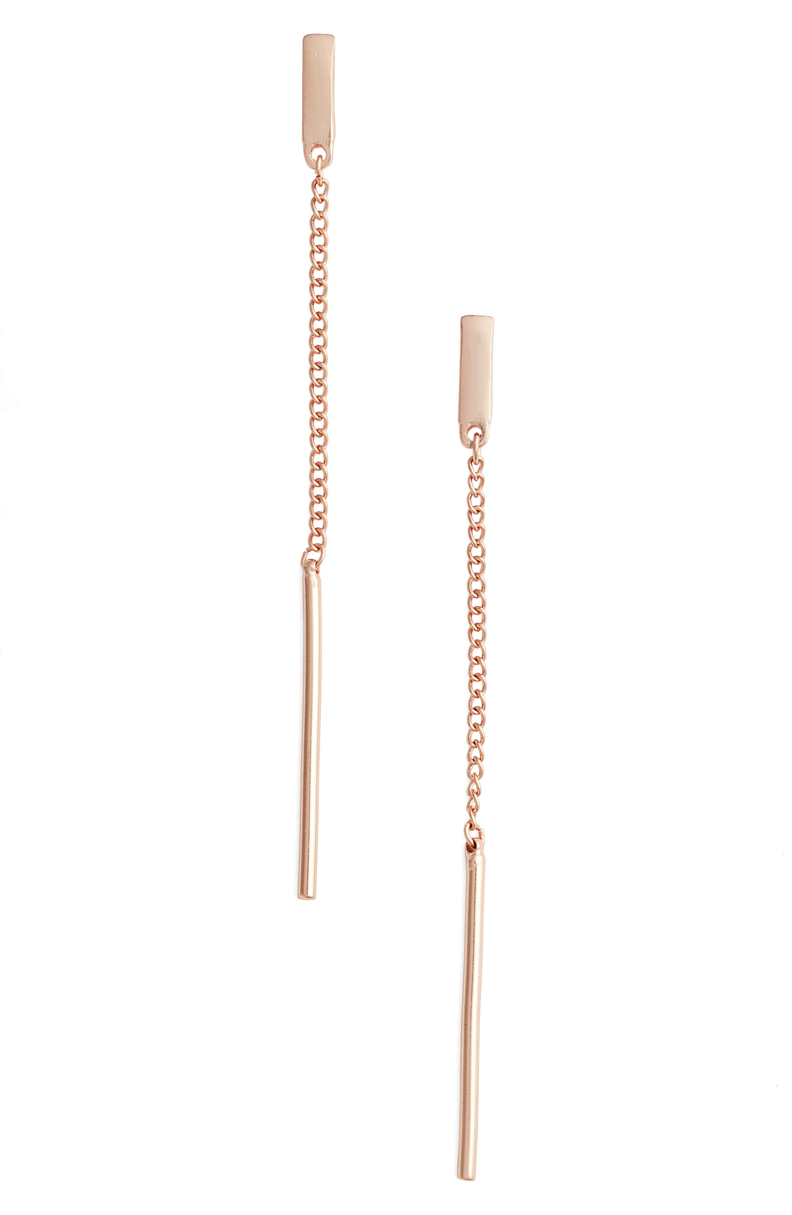 Karine Sultan Linear Earrings