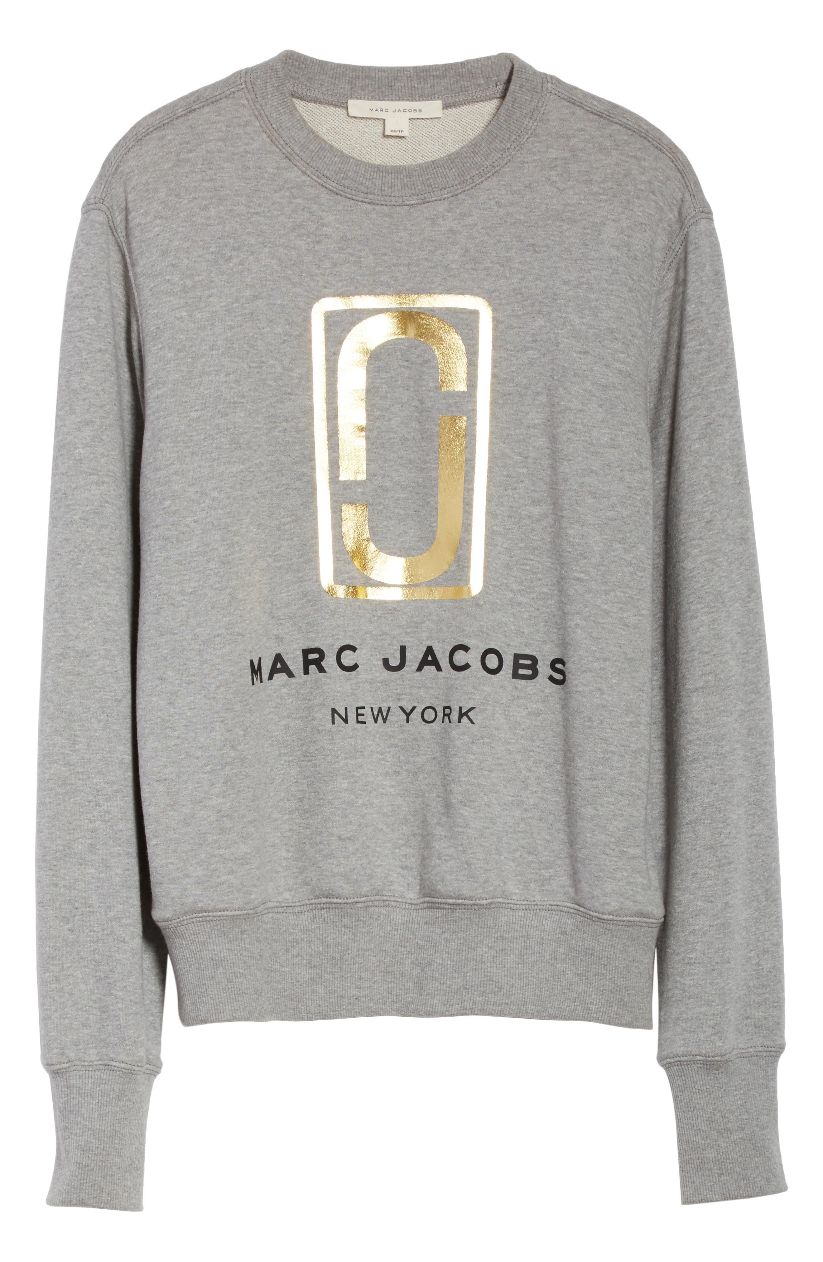 Alternate Image 6  - MARC JACOBS Logo Sweatshirt