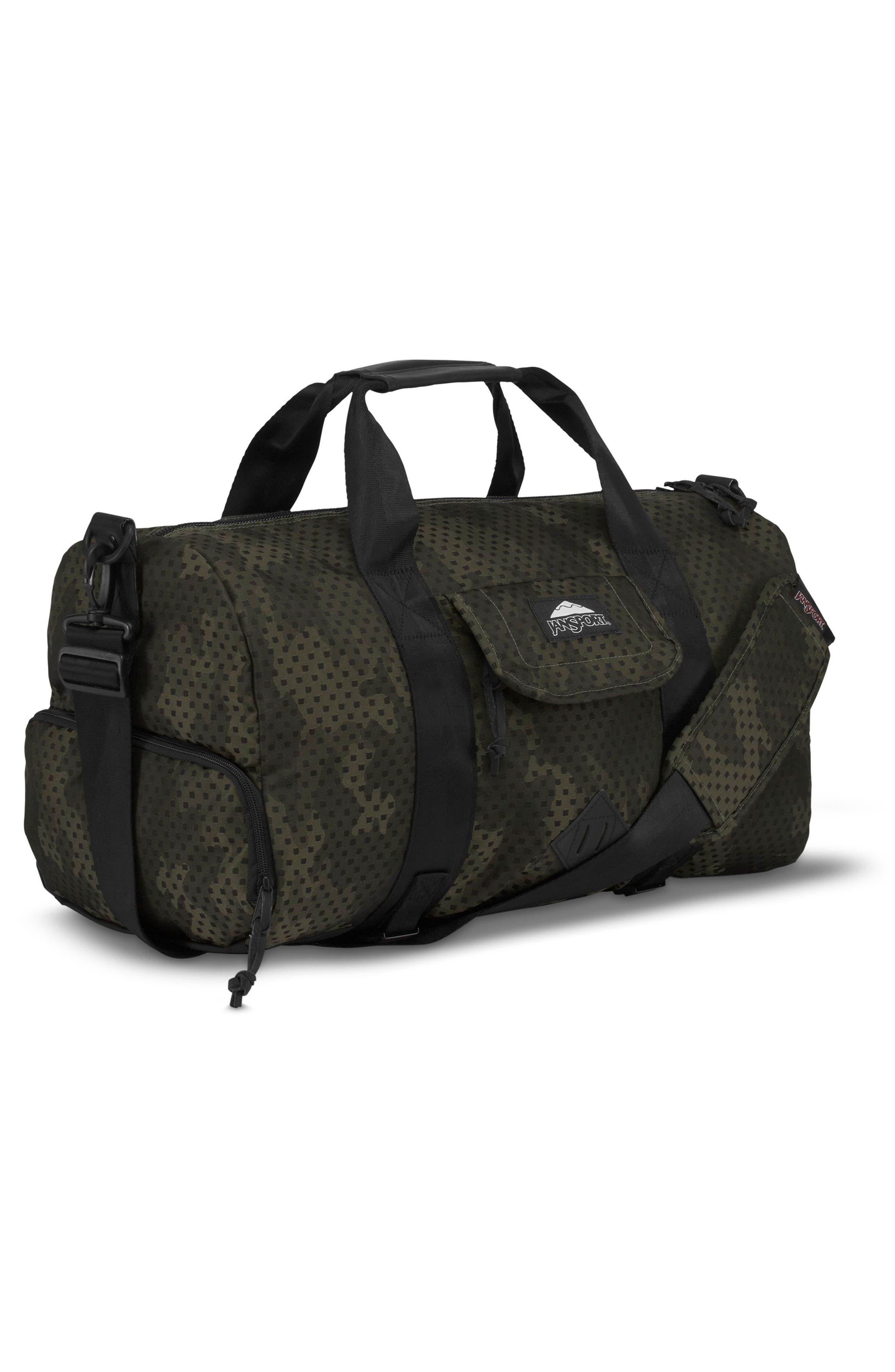 Wayward Duffel Bag,                             Alternate thumbnail 4, color,                             Green Square Camo