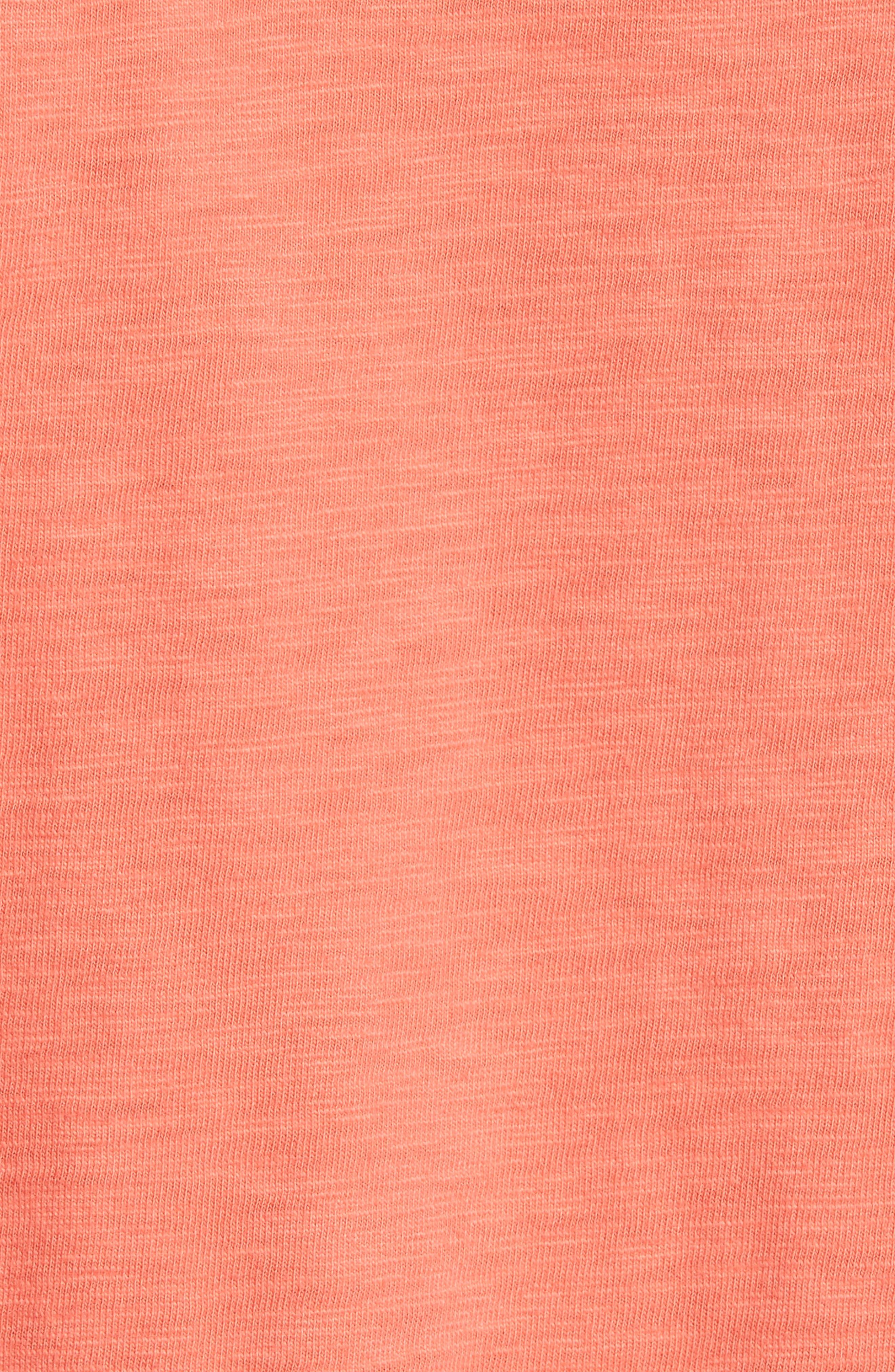 Gulf Stream Sweatshirt,                             Alternate thumbnail 5, color,                             Melon