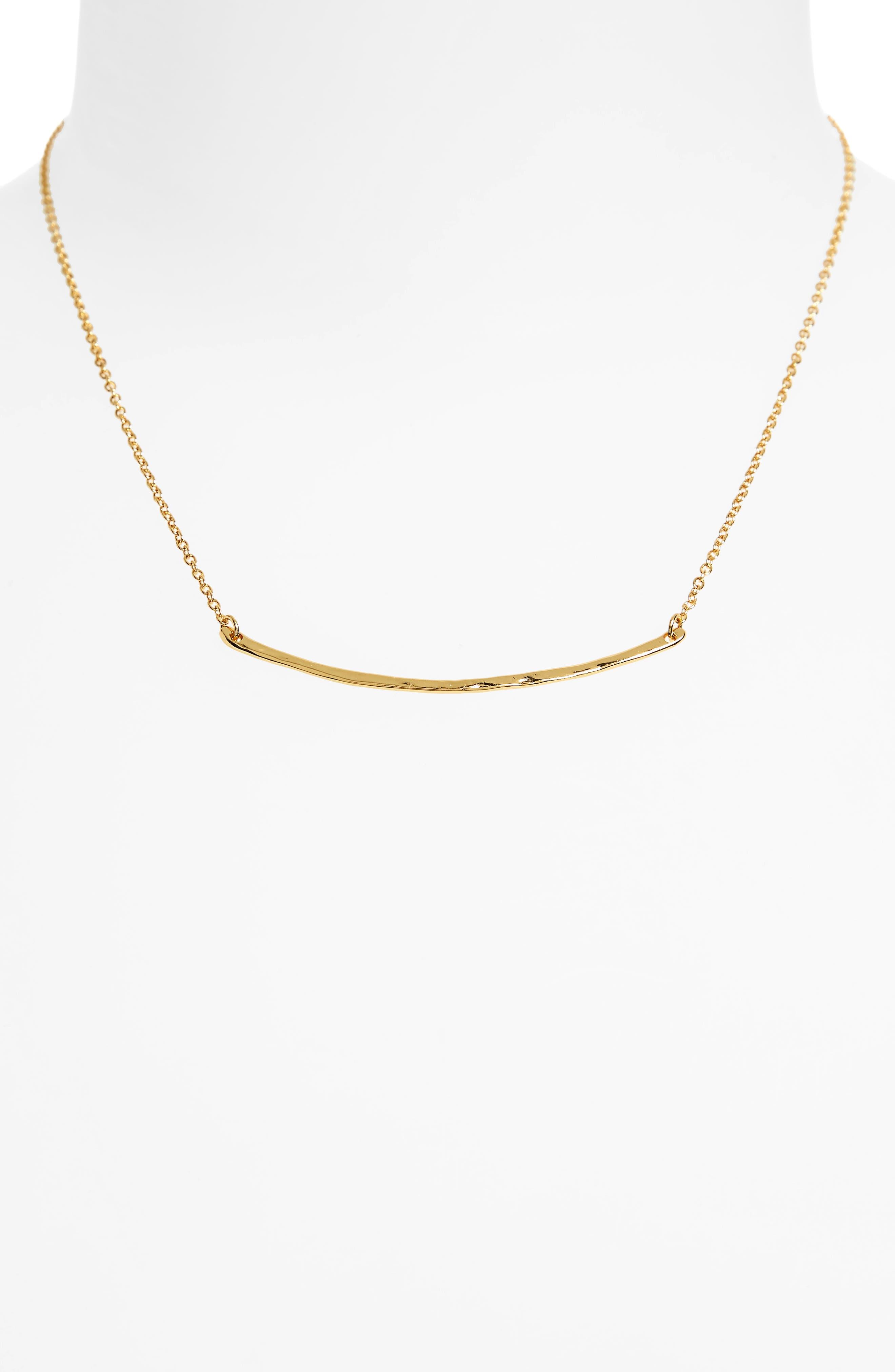 Alternate Image 4  - gorjana Taner Bar Small Necklace