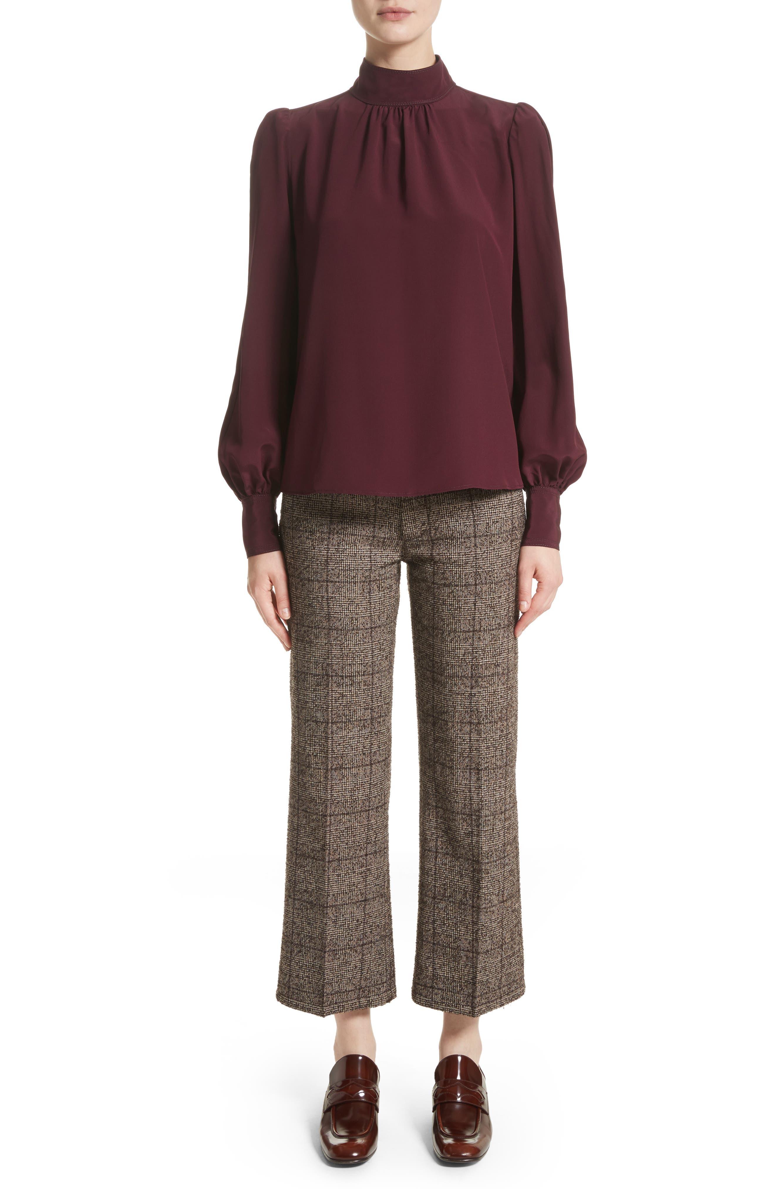 Alternate Image 6  - MARC JACOBS Plaid Tweed Crop Pants