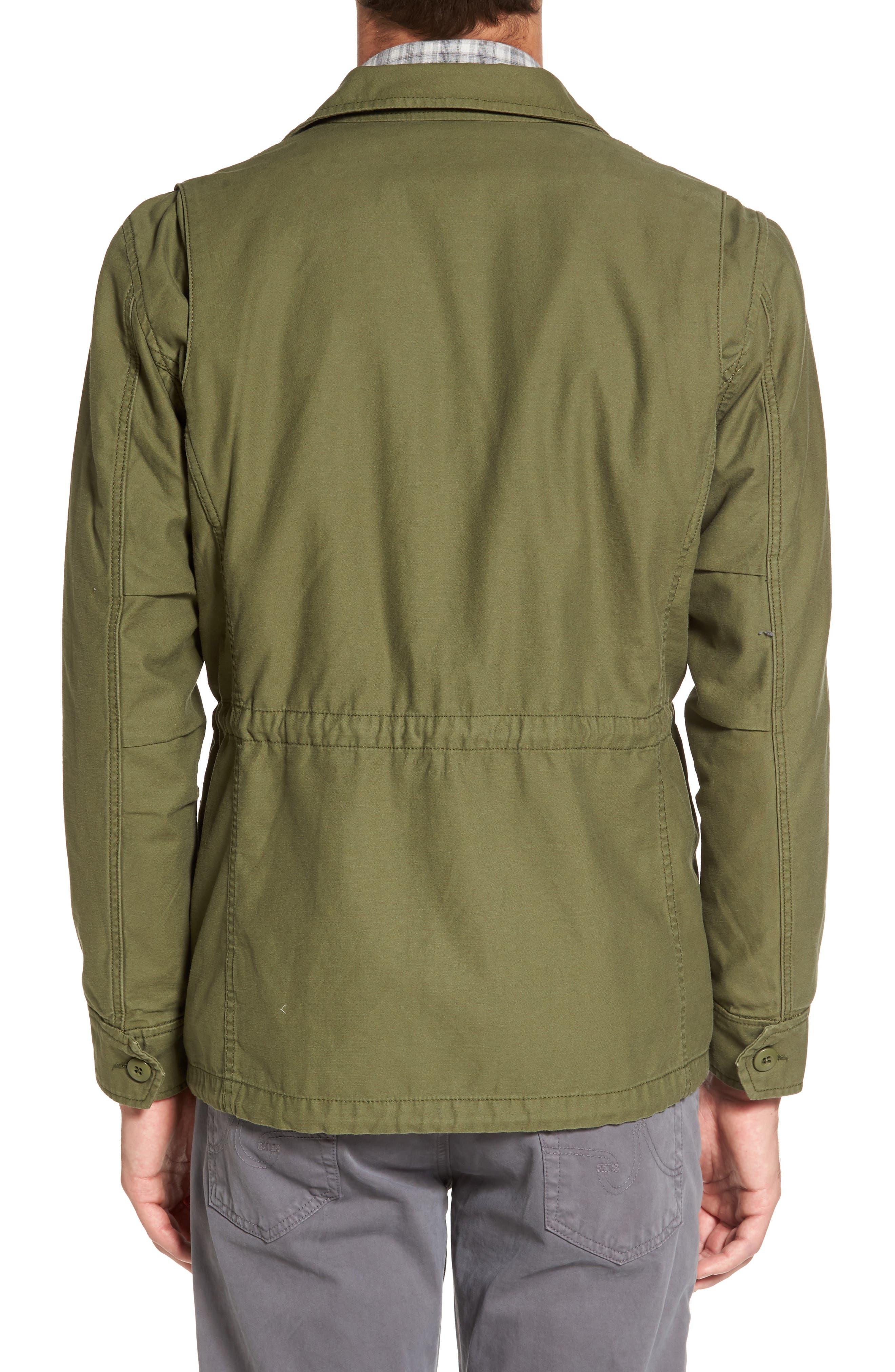 Jameson Field Jacket,                             Alternate thumbnail 2, color,                             Climbing Ivy