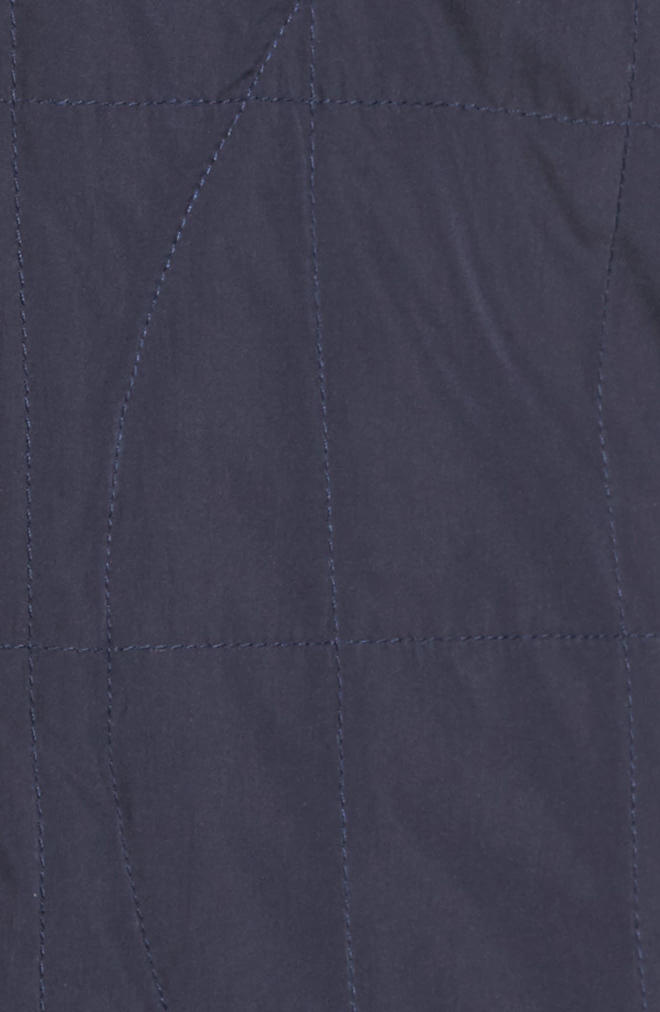 Midtown Quilted Jacket,                             Alternate thumbnail 5, color,                             Abyss