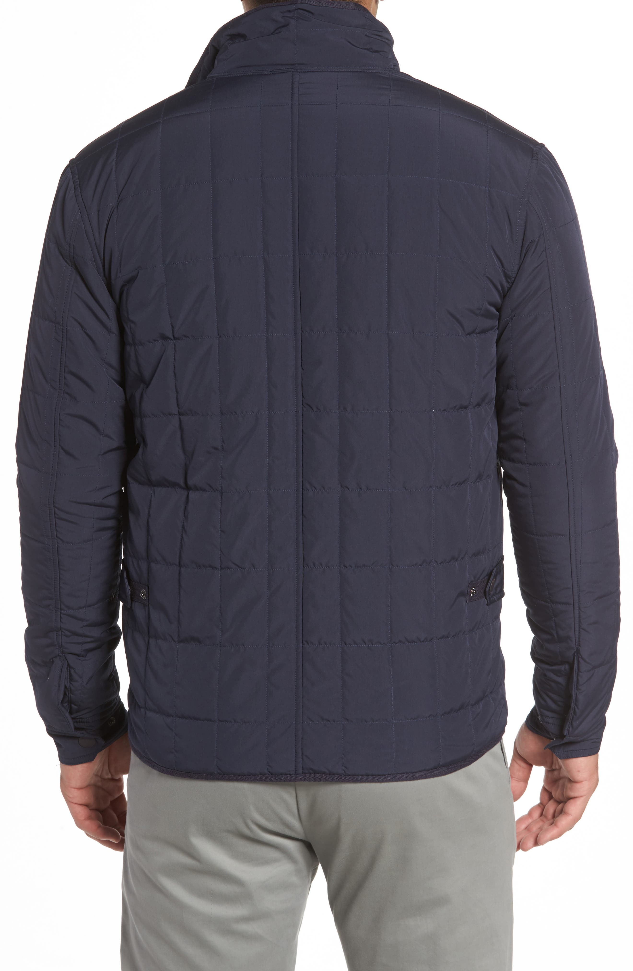 Midtown Quilted Jacket,                             Alternate thumbnail 2, color,                             Abyss