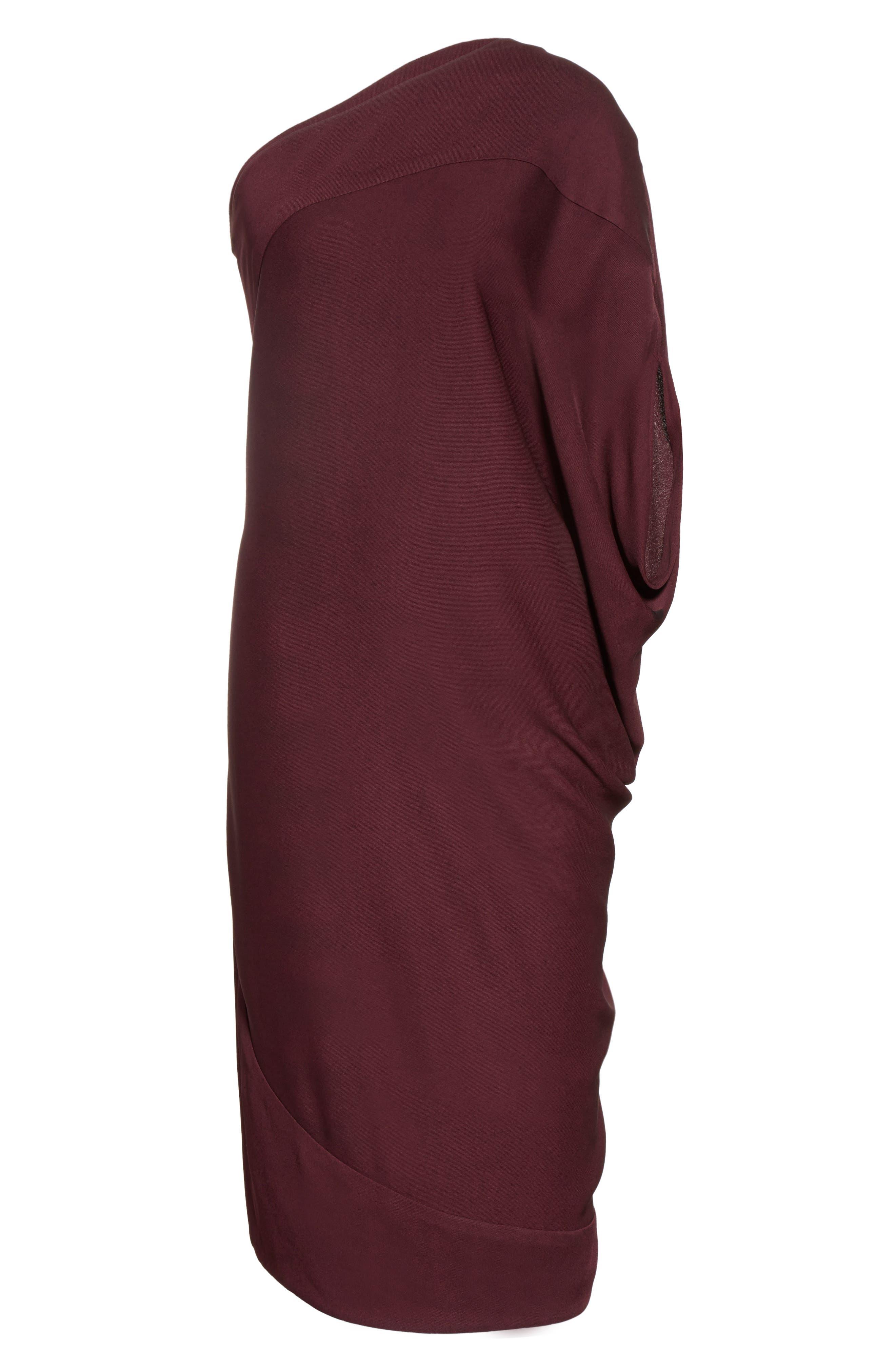 Alternate Image 6  - Zero + Maria Cornejo Lui Eco Drape One-Shoulder Dress
