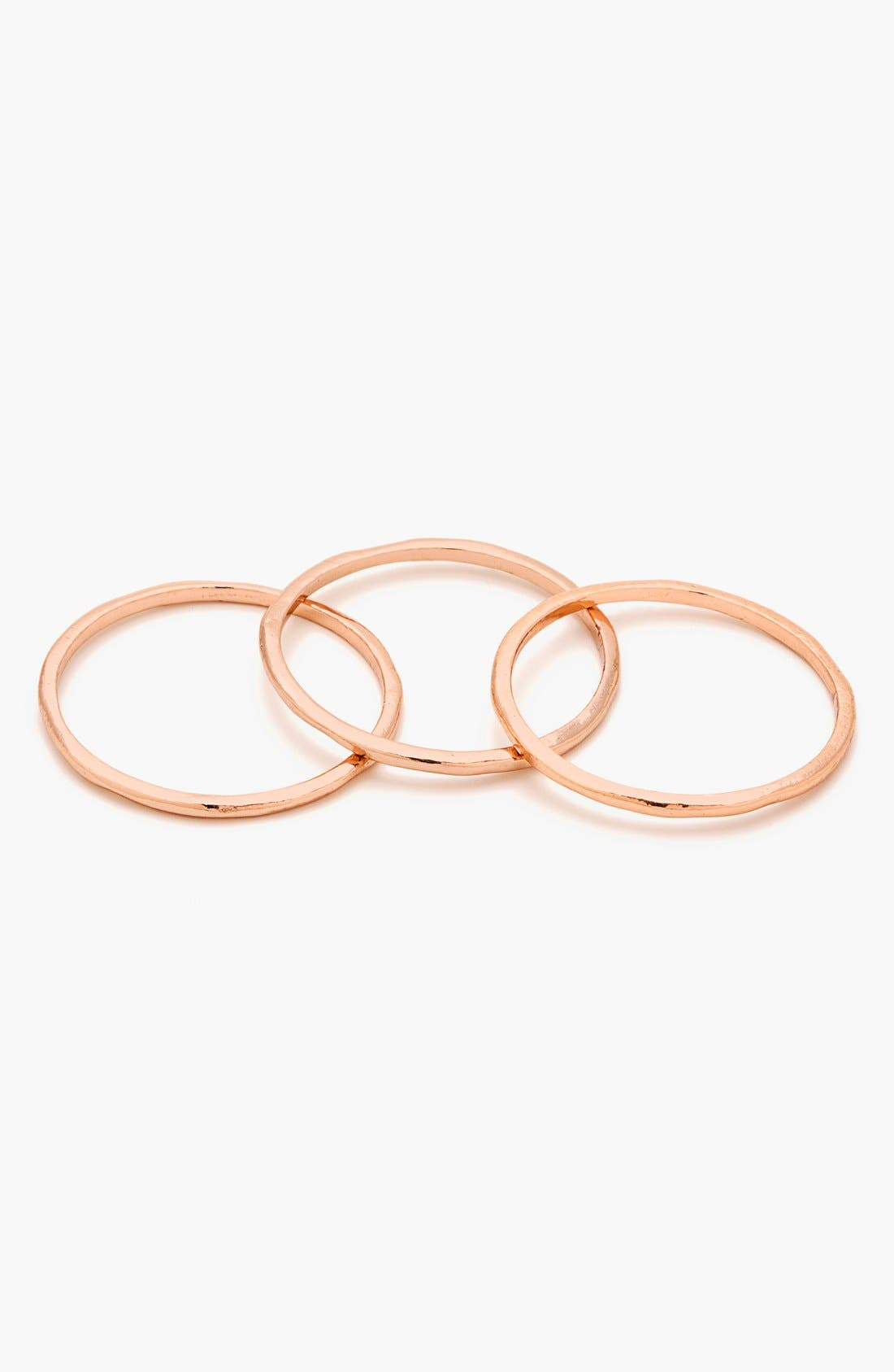Alternate Image 2  - gorjana 'G Ring' Rings (Set of 3)