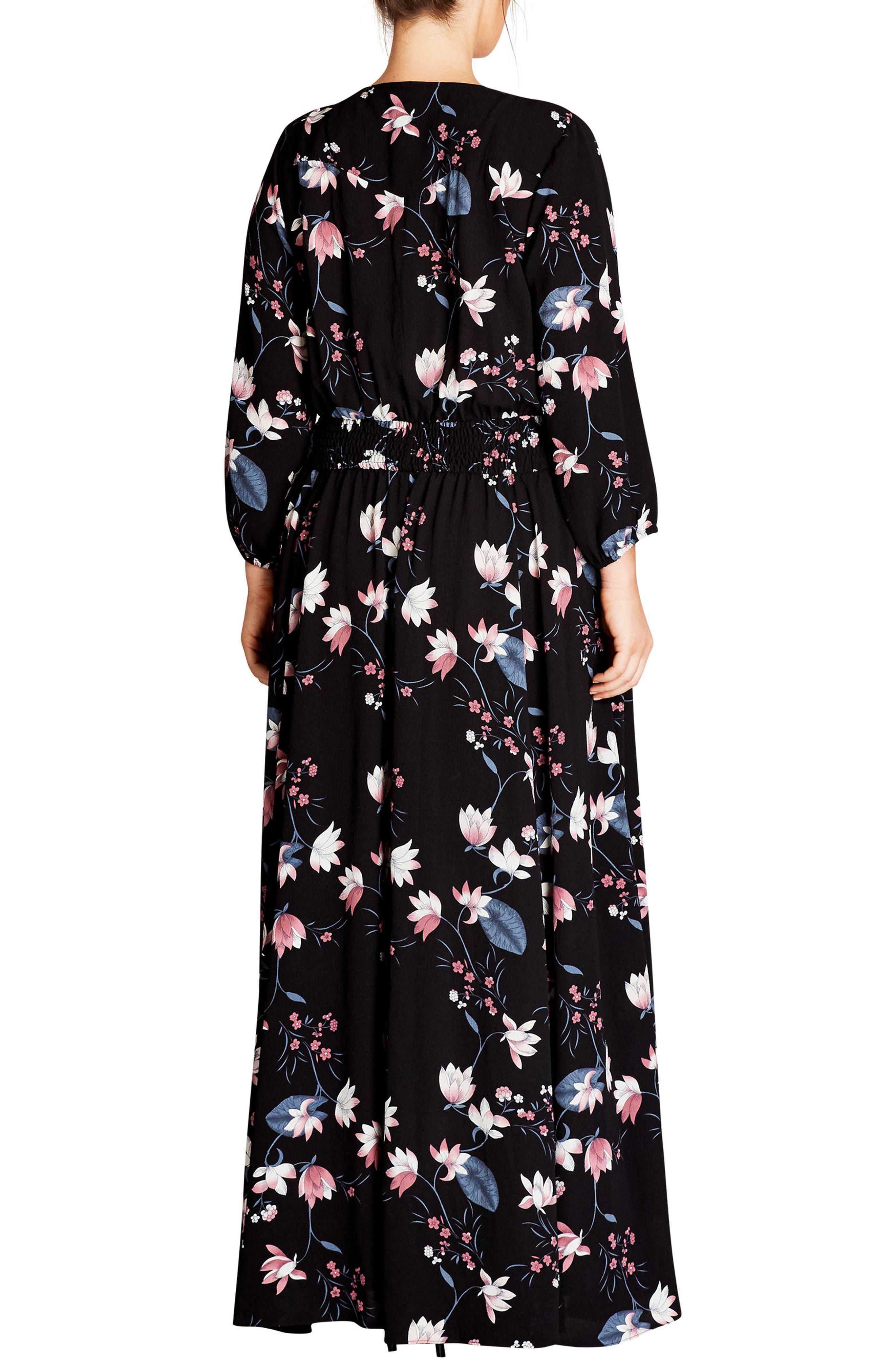 Sweet Jasmine Maxi Dress,                             Alternate thumbnail 2, color,                             Sweet Jasmine