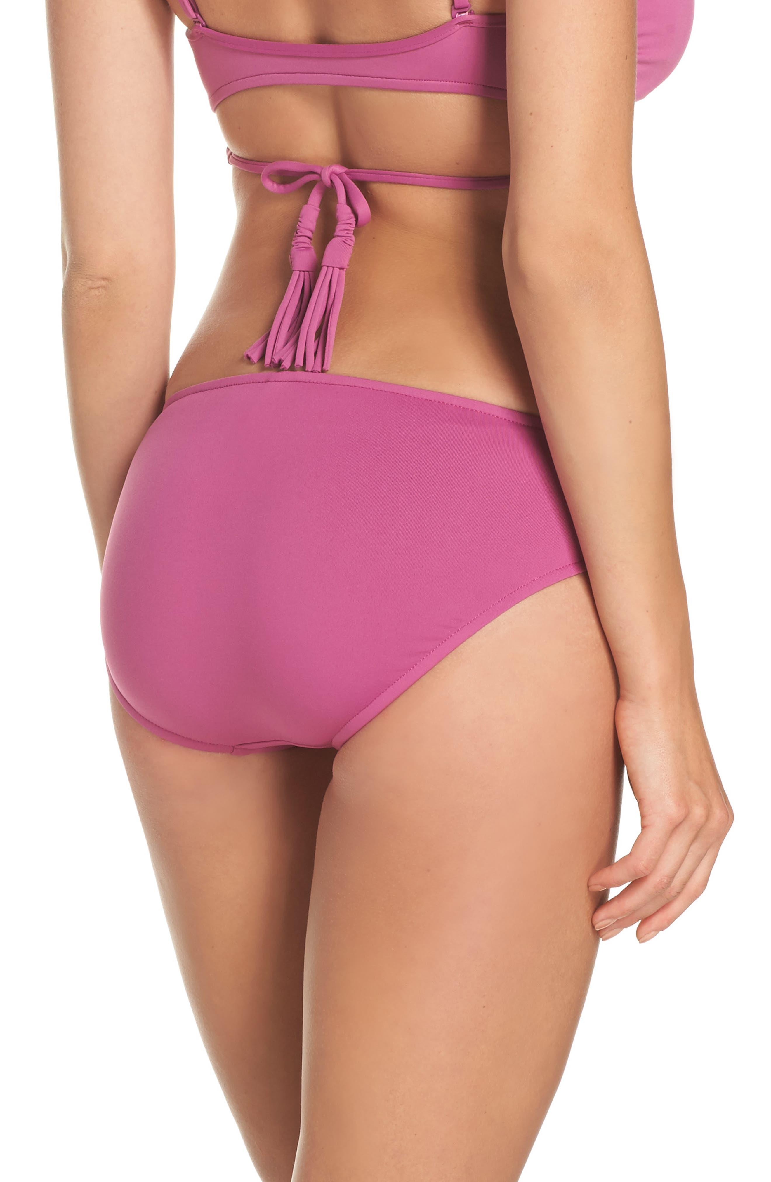 Alternate Image 2  - Seafolly Hipster Bikini Bottoms