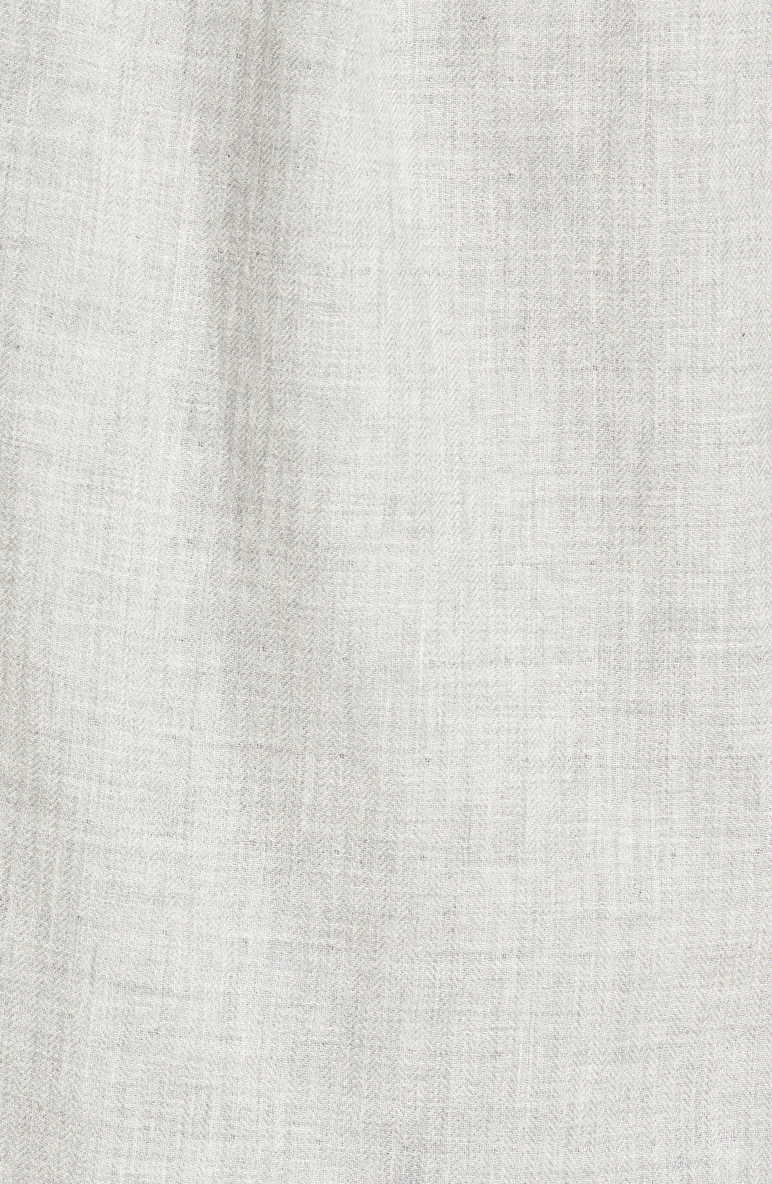 Alternate Image 5  - Grayers Chester Modern Fit Double Cloth Herringbone Sport Shirt