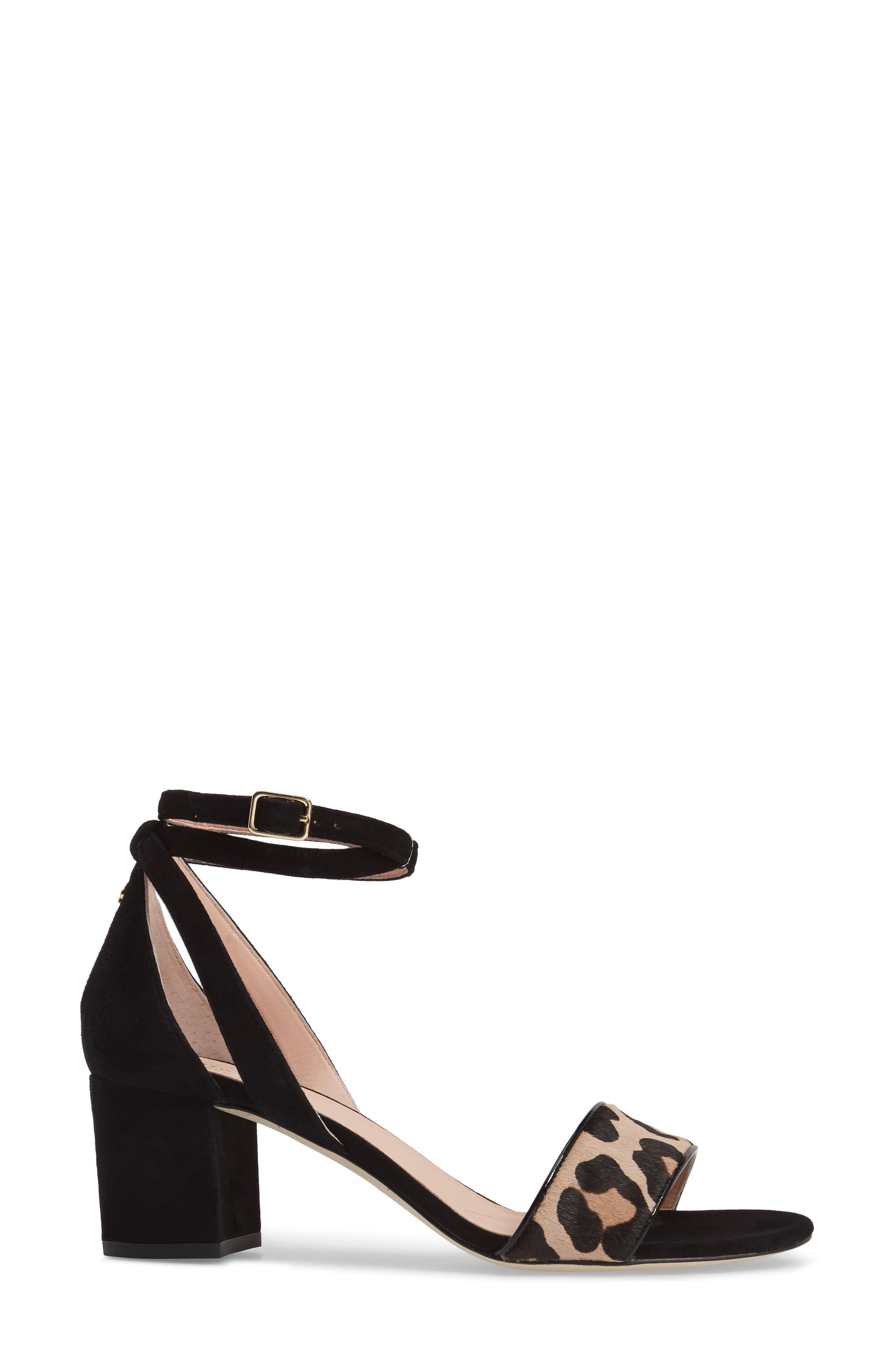 Alternate Image 3  - kate spade new york watson genuine calf hair block heel sandal (Women)