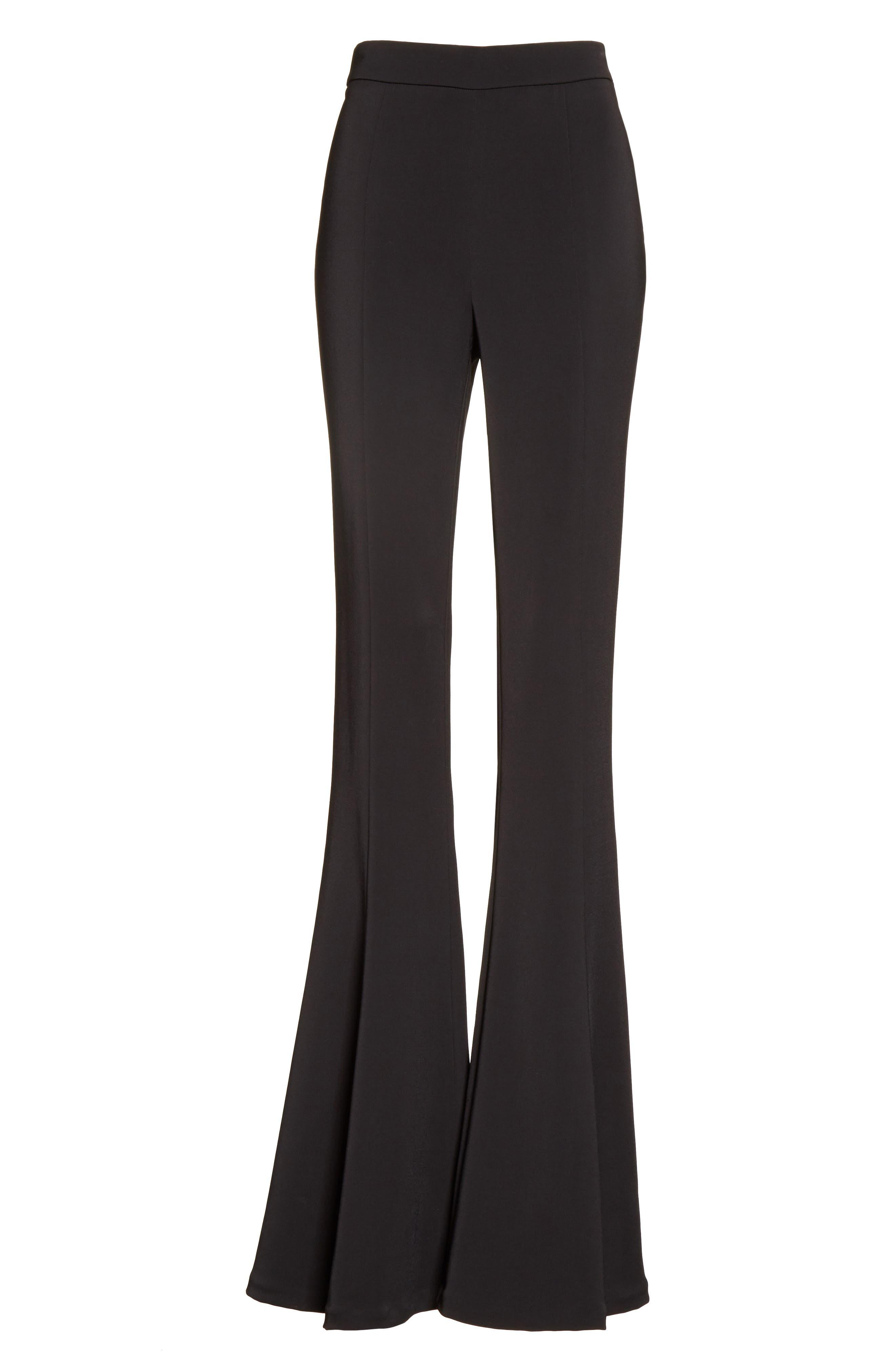 Alternate Image 6  - Cushnie et Ochs Naomi High Waist Flare Pants