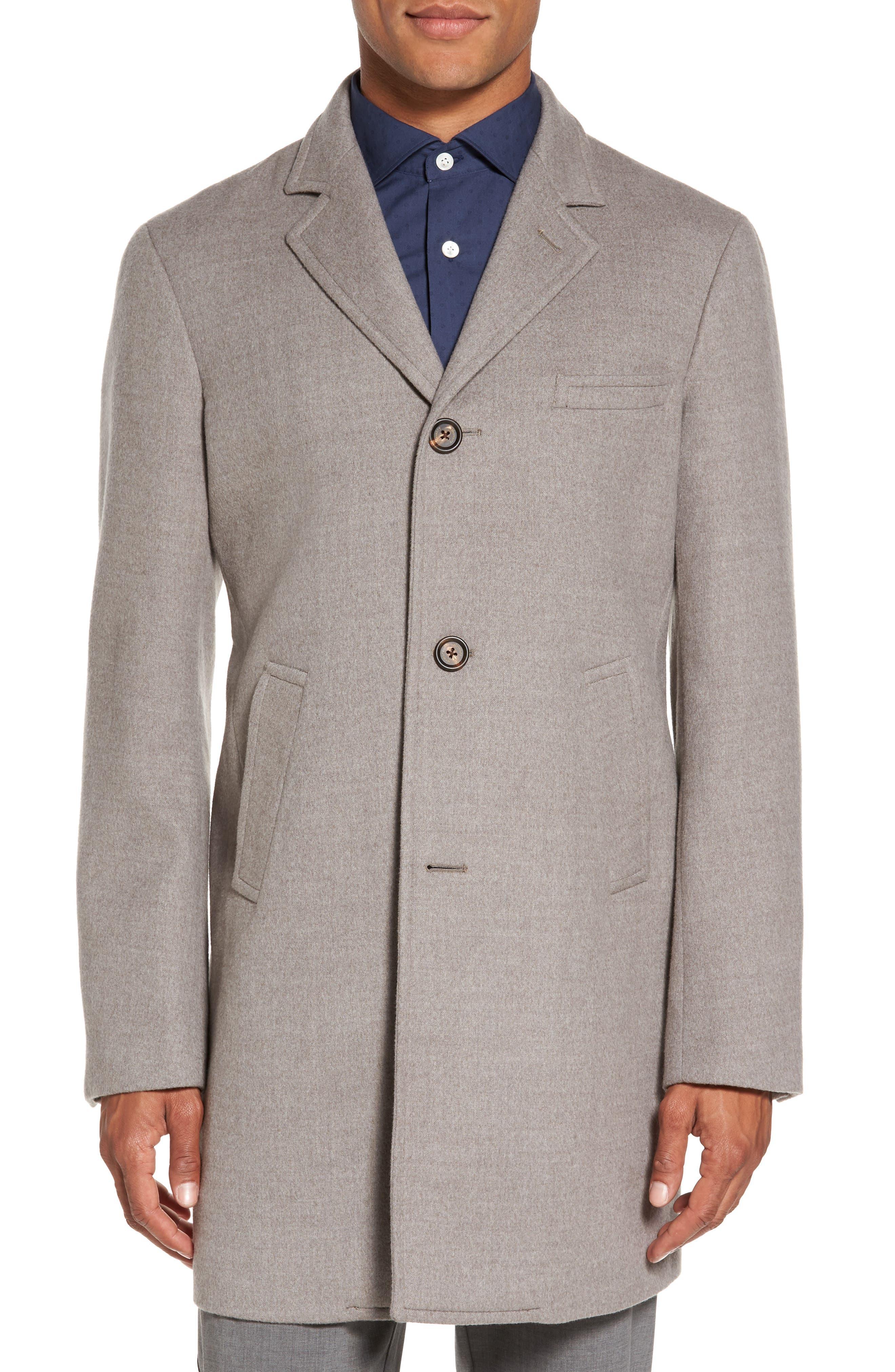 ELEVENTY Wool Car Coat