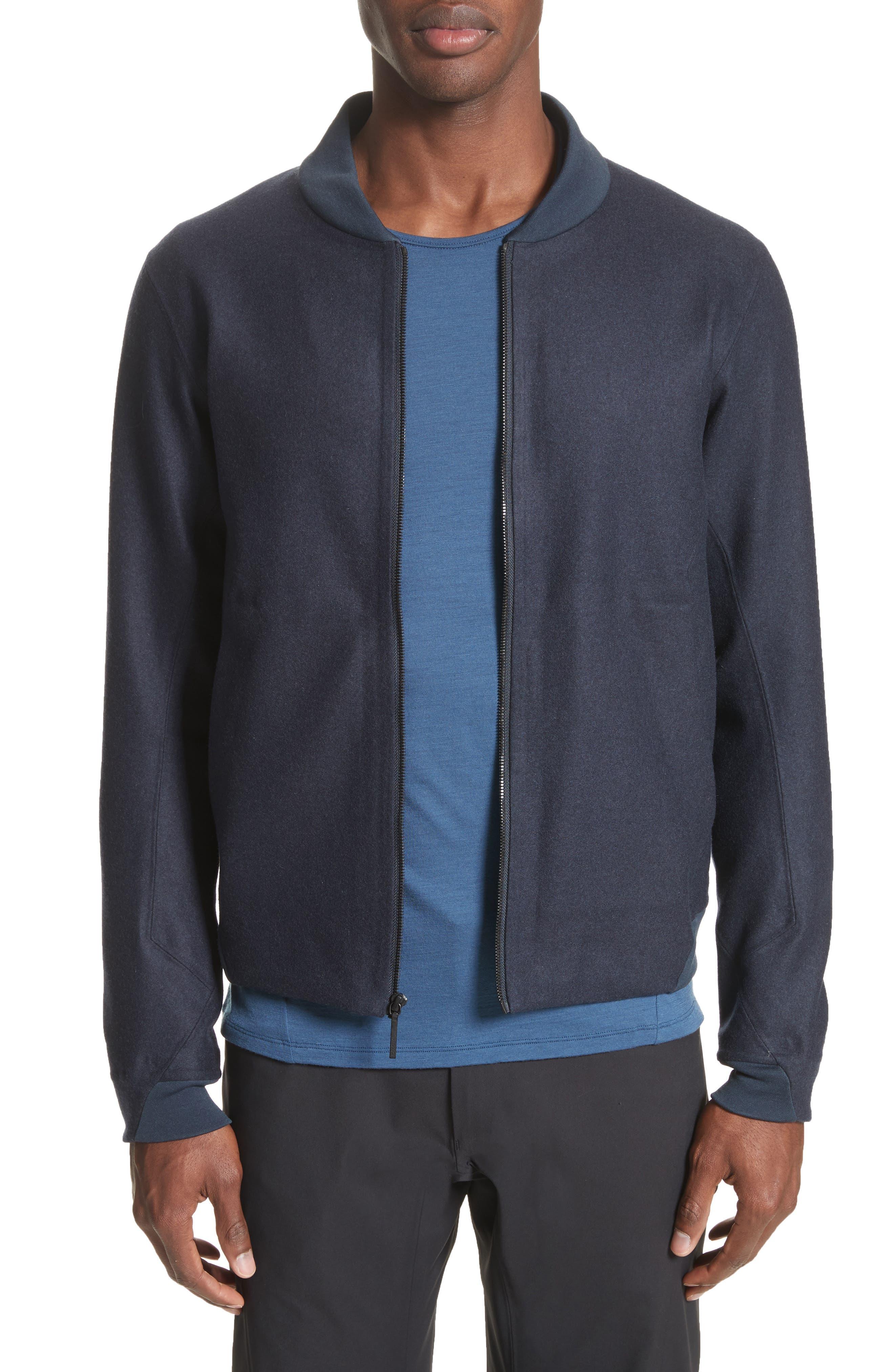 Arc'teryx Veilance Haedn Wool Blend Bomber Jacket