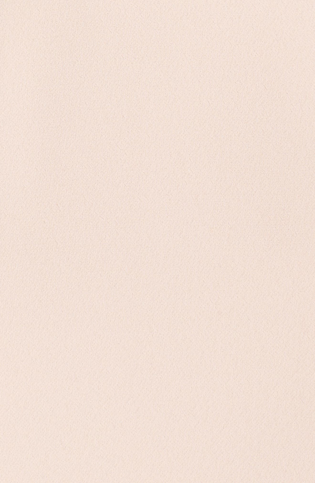 Alternate Image 6  - Vince Camuto Crystal Choker Bell Sleeve Sheath Dress
