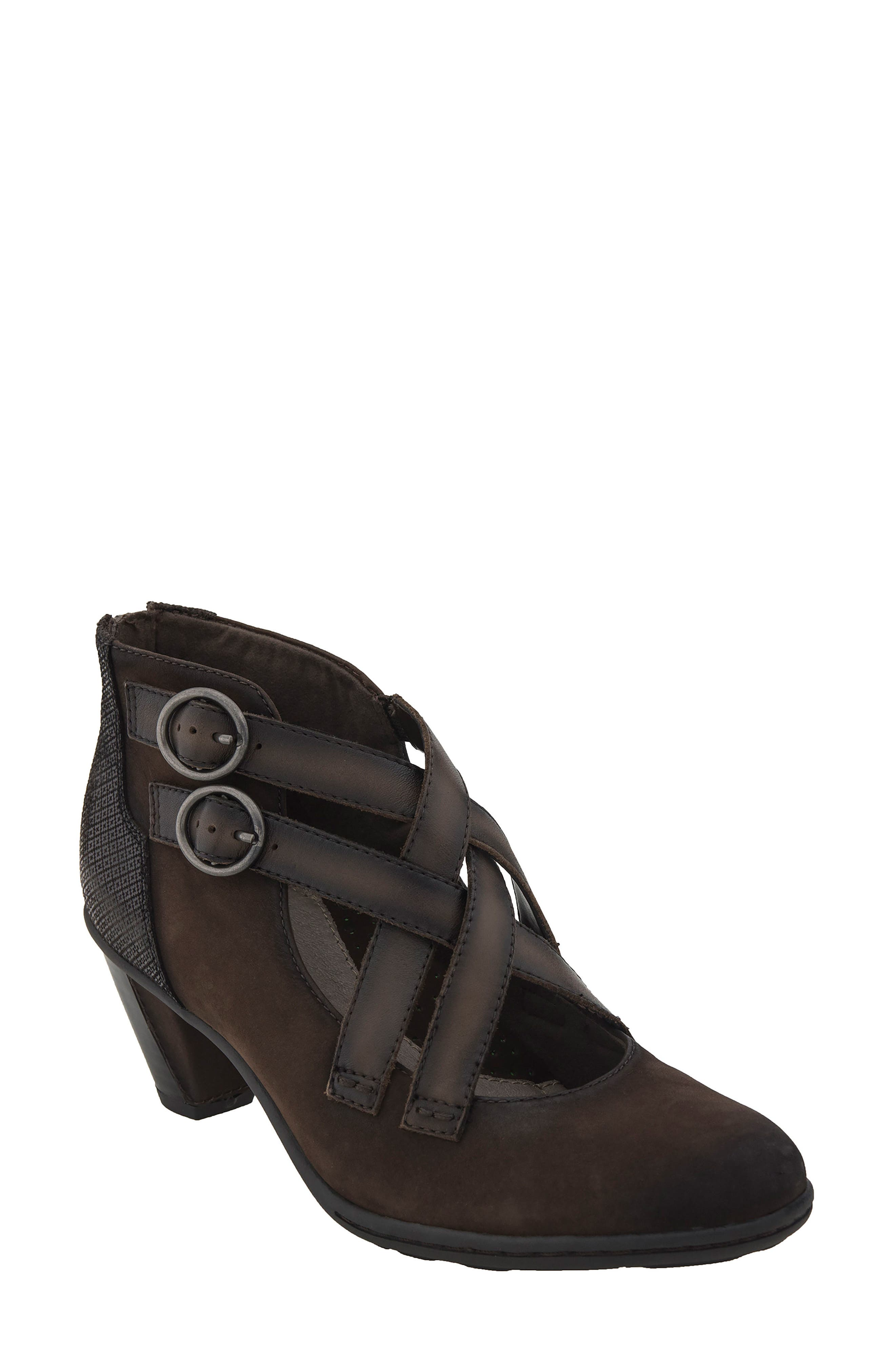 Main Image - Earth® 'Amber' Buckle Bootie (Women)