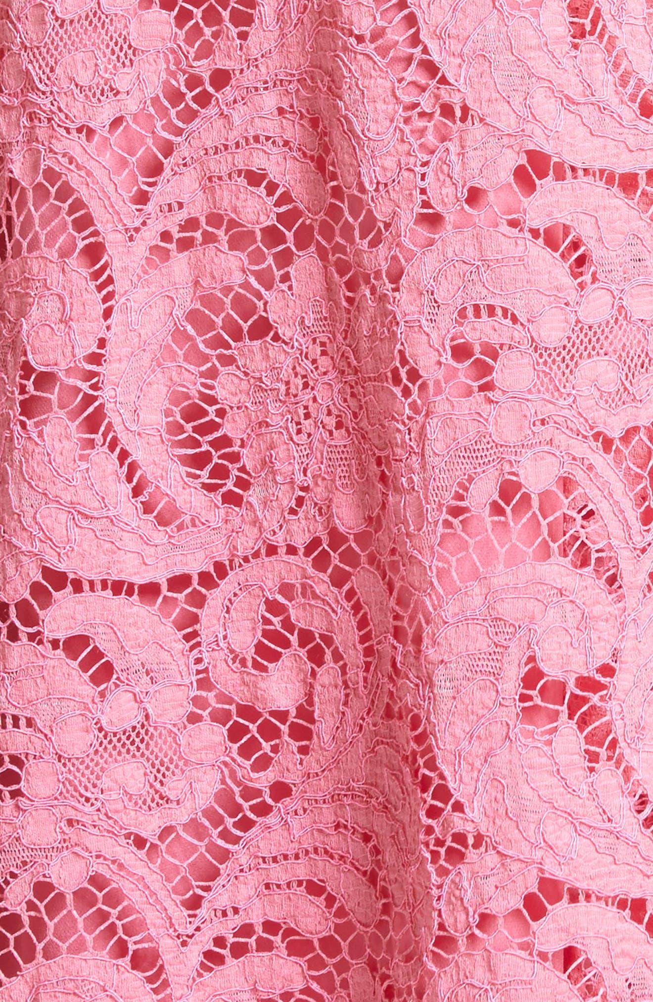 Alternate Image 5  - Adam Lippes Corded Lace Trapeze Dress