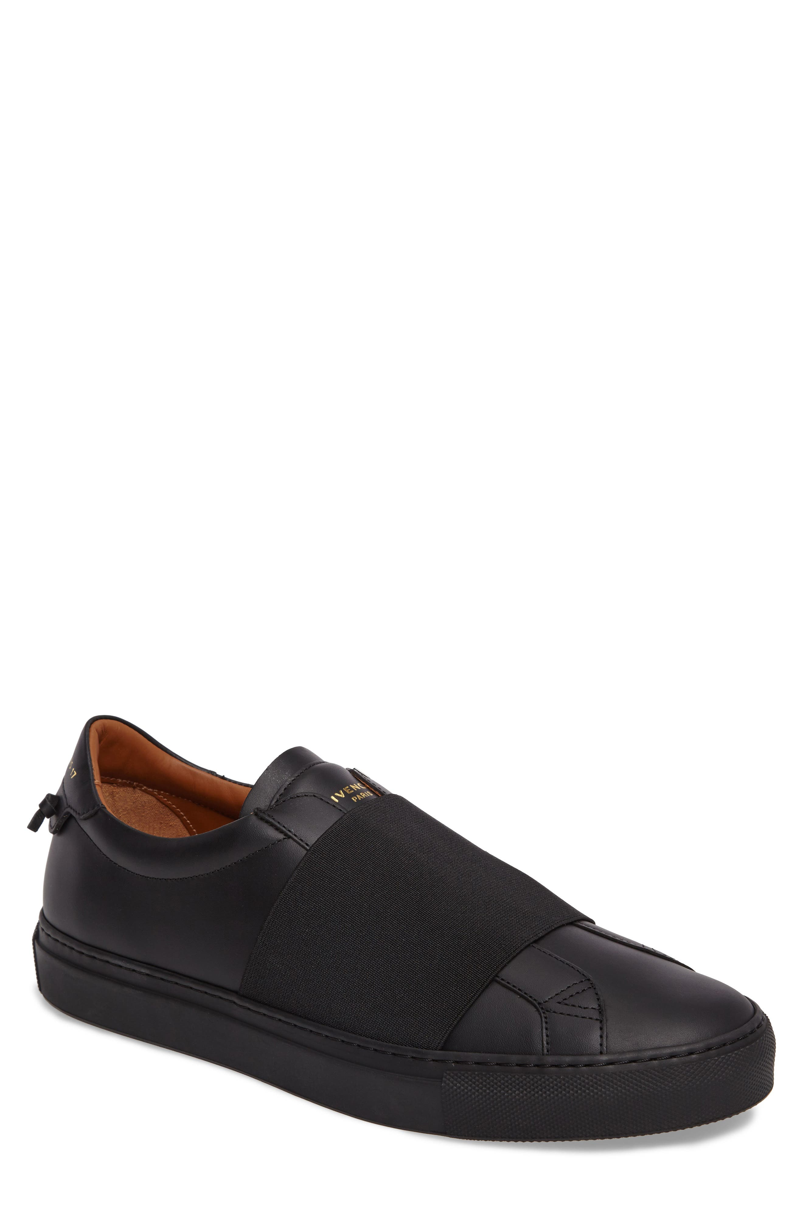 Slip-On Sneaker,                             Main thumbnail 1, color,                             Black