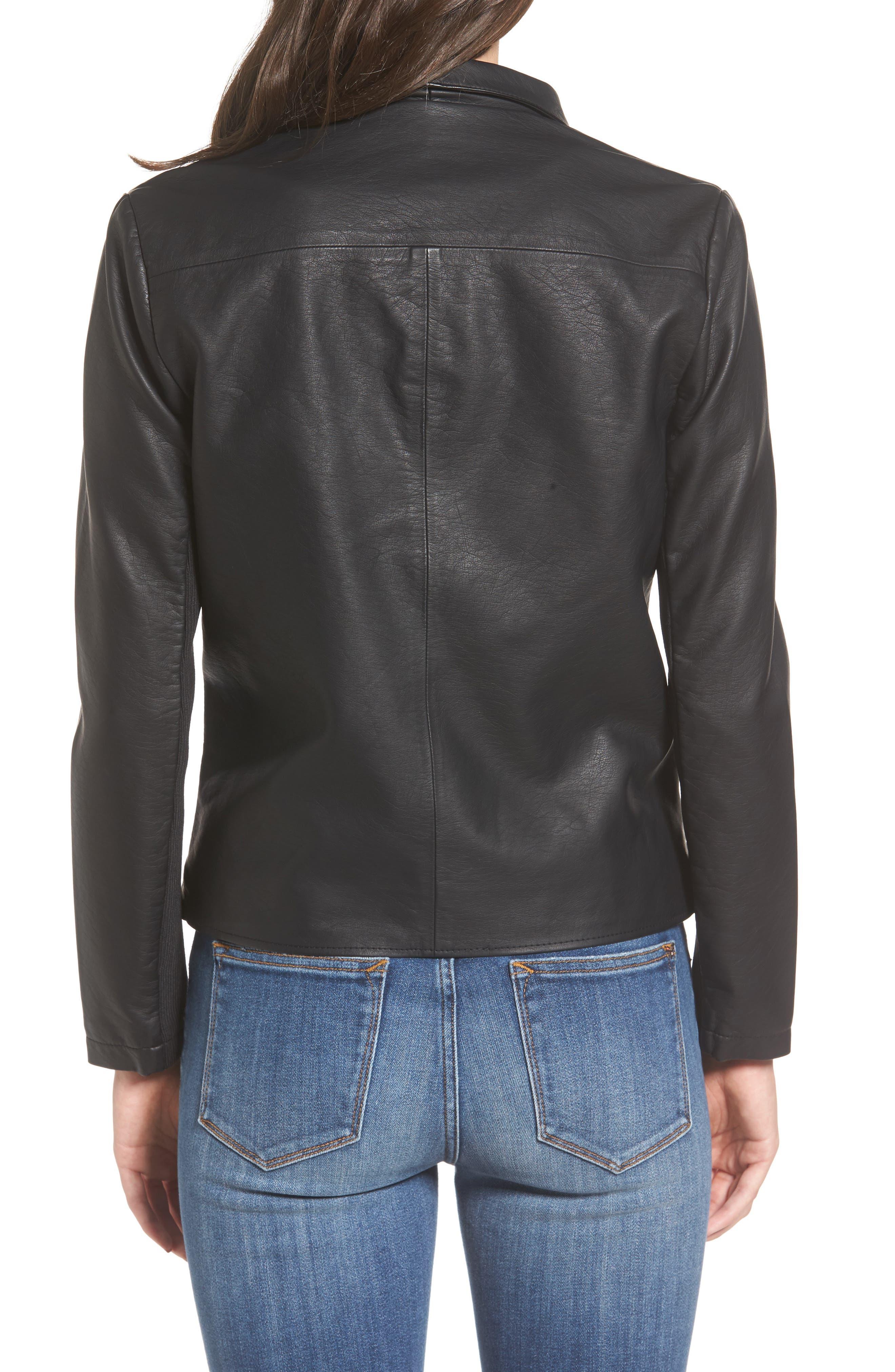 2f64748814d Women's Faux Leather Coats & Jackets | Nordstrom
