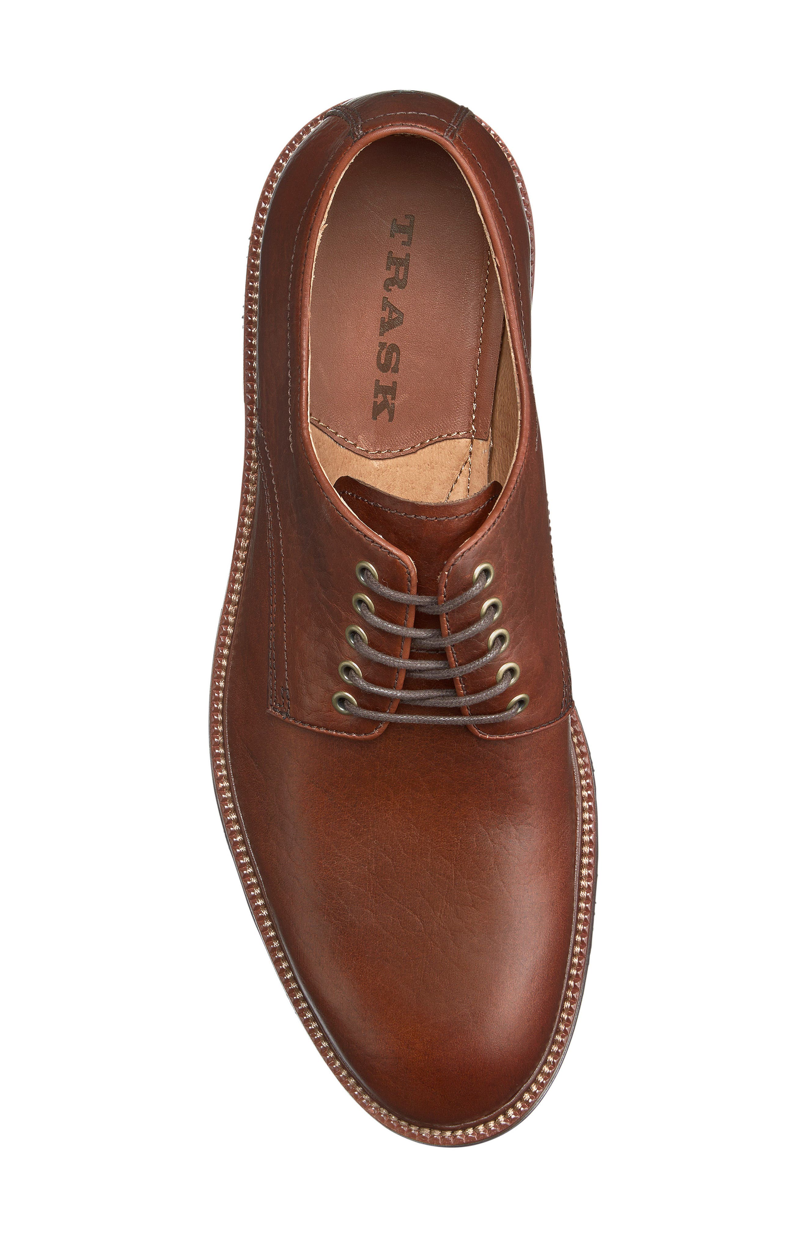 Alternate Image 3  - Trask Landry Plain Toe Derby (Men)