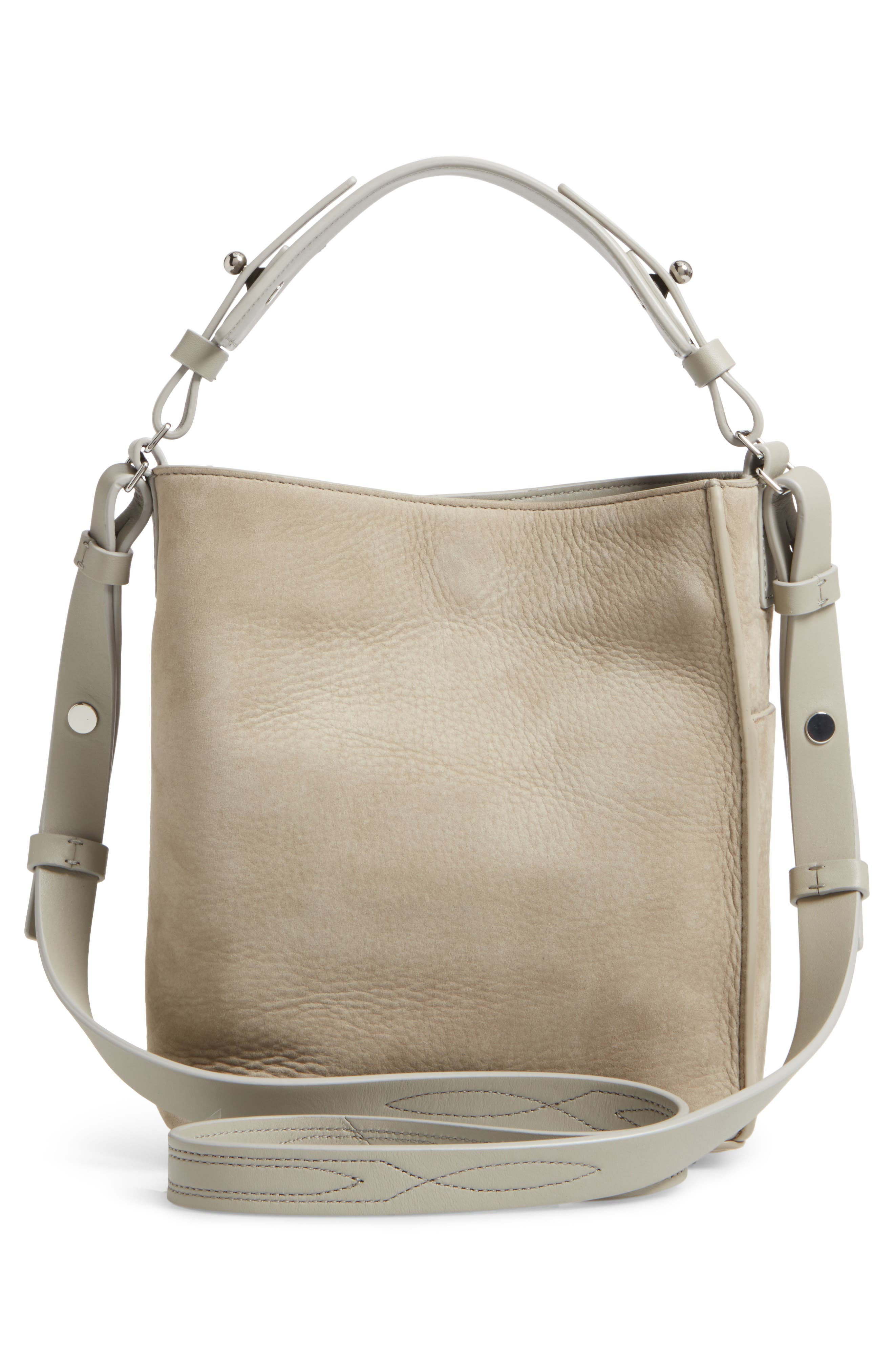 Cooper Mini Leather Tote,                             Alternate thumbnail 2, color,                             Light Cement Grey