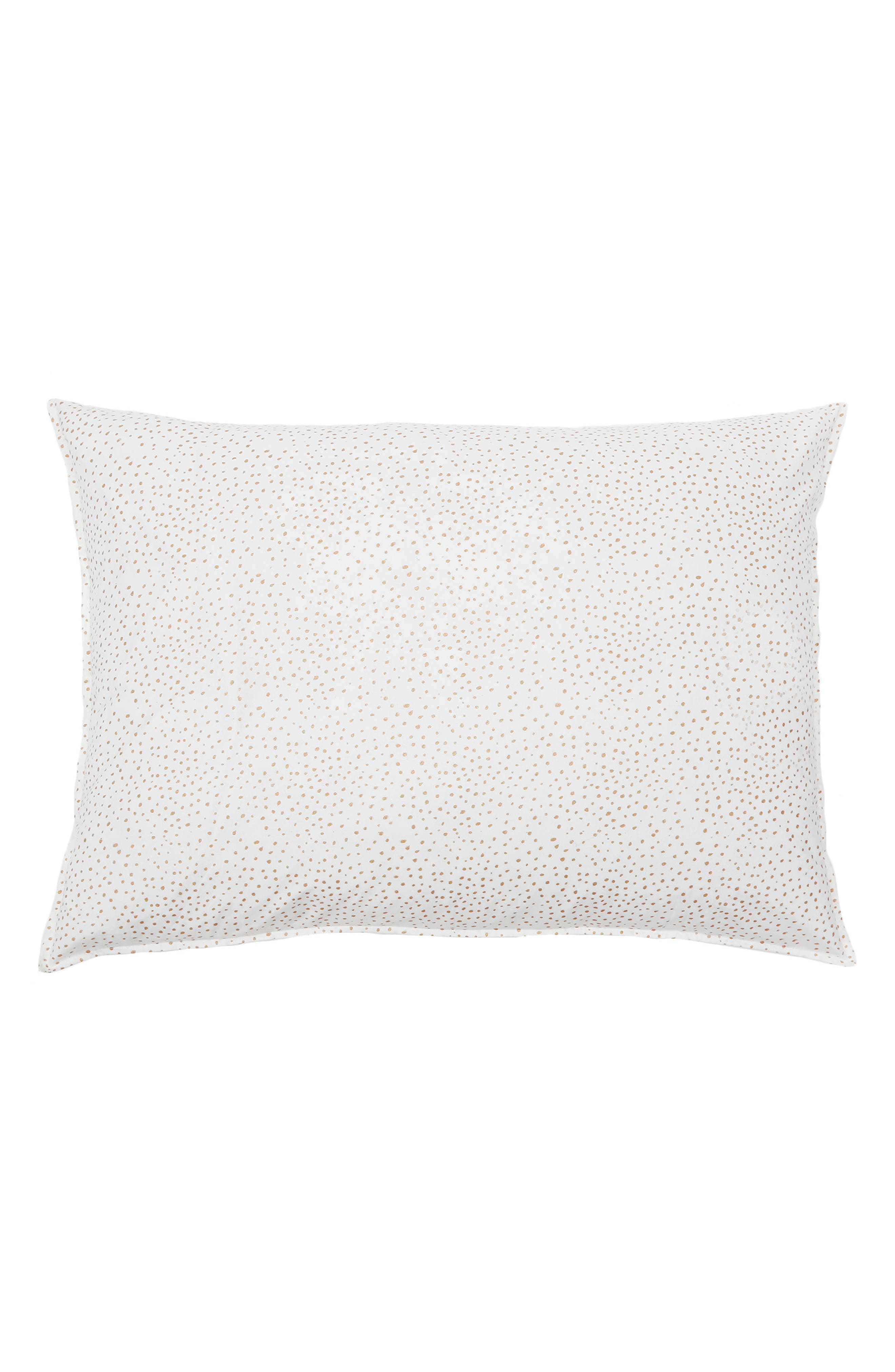Dot Big Accent Pillow,                         Main,                         color, Gold