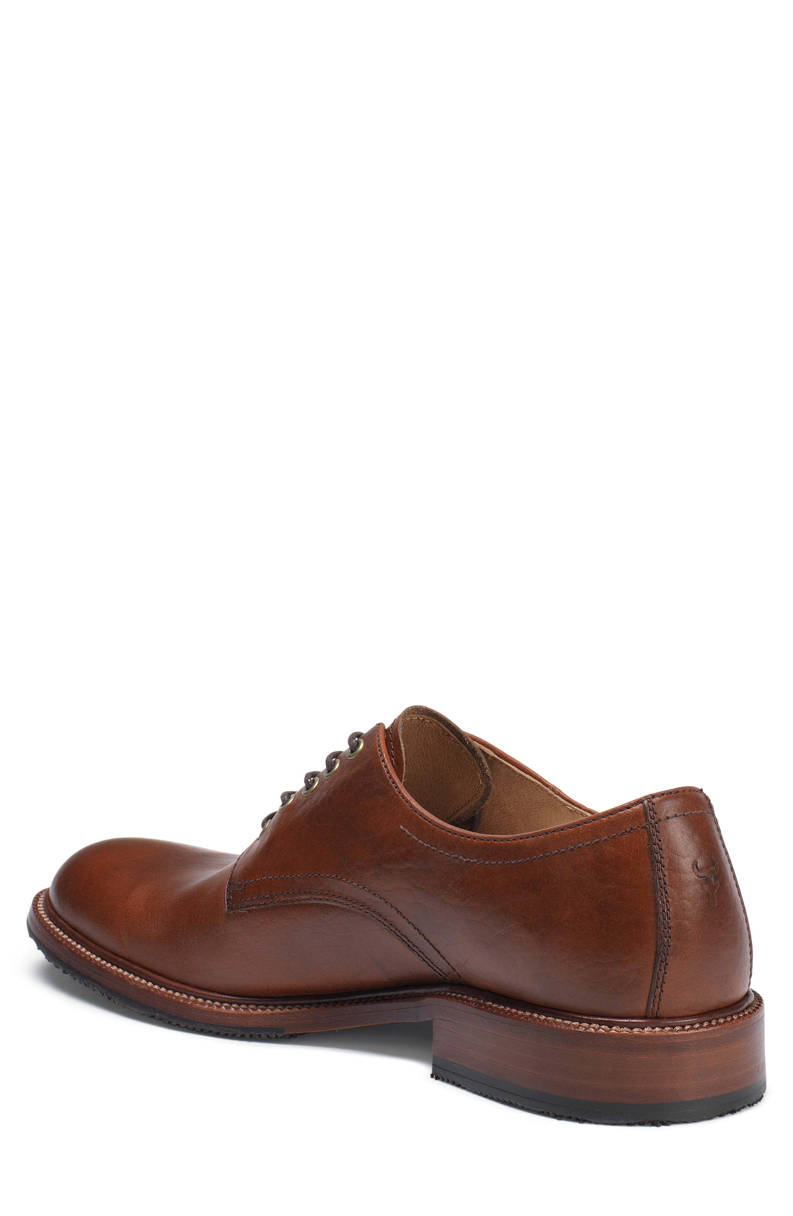 Alternate Image 2  - Trask Landry Plain Toe Derby (Men)