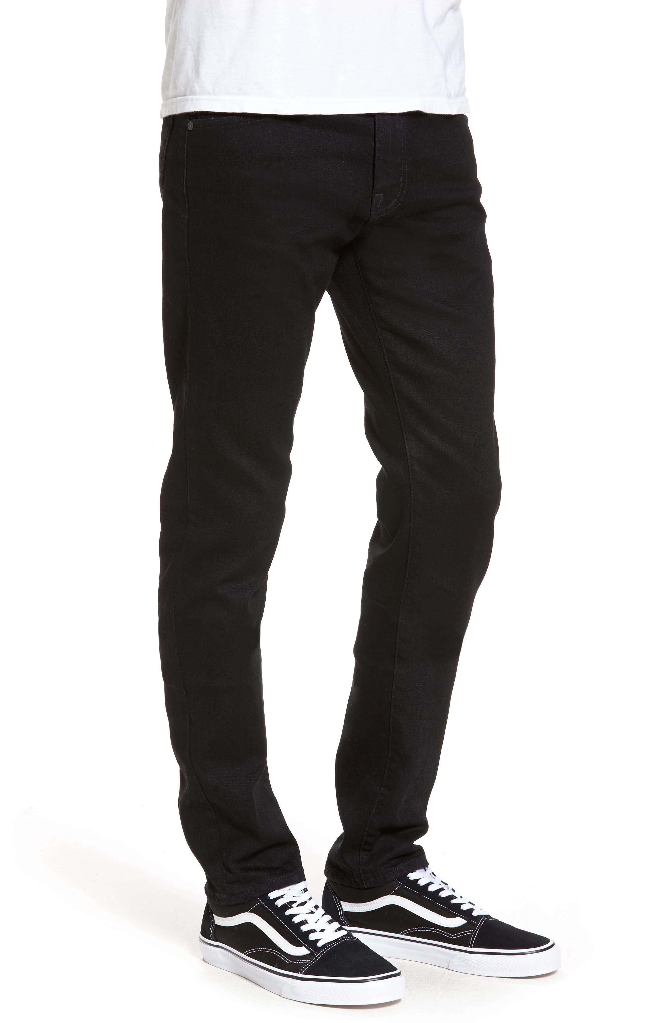 Alternate Image 3  - AG Dylan Slim Skinny Fit Jeans (Deep Pitch)