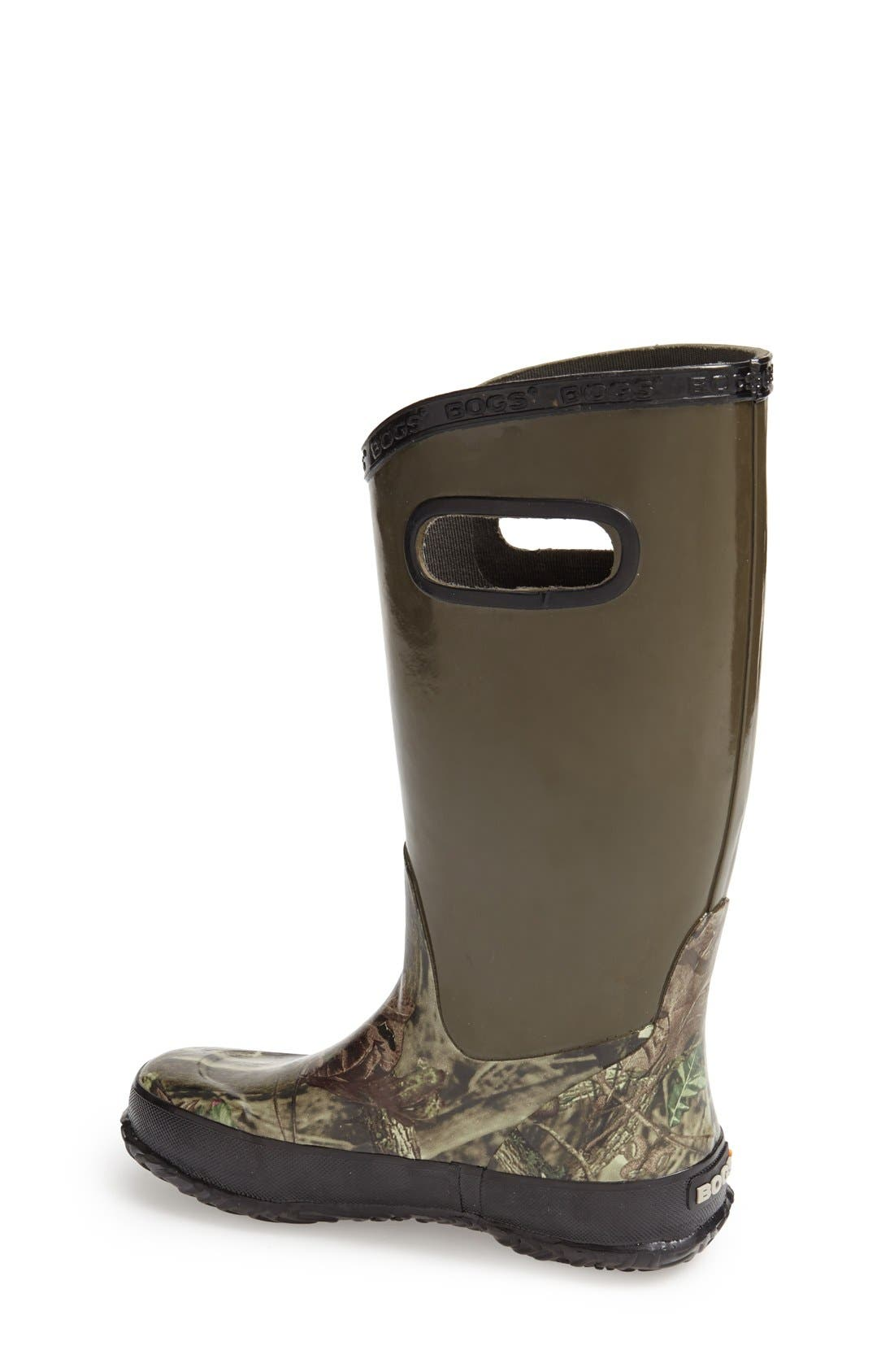 Alternate Image 2  - Bogs Hunting Waterproof Rubber Rain Boot (Walker, Toddler, Little Kid & Big Kid)