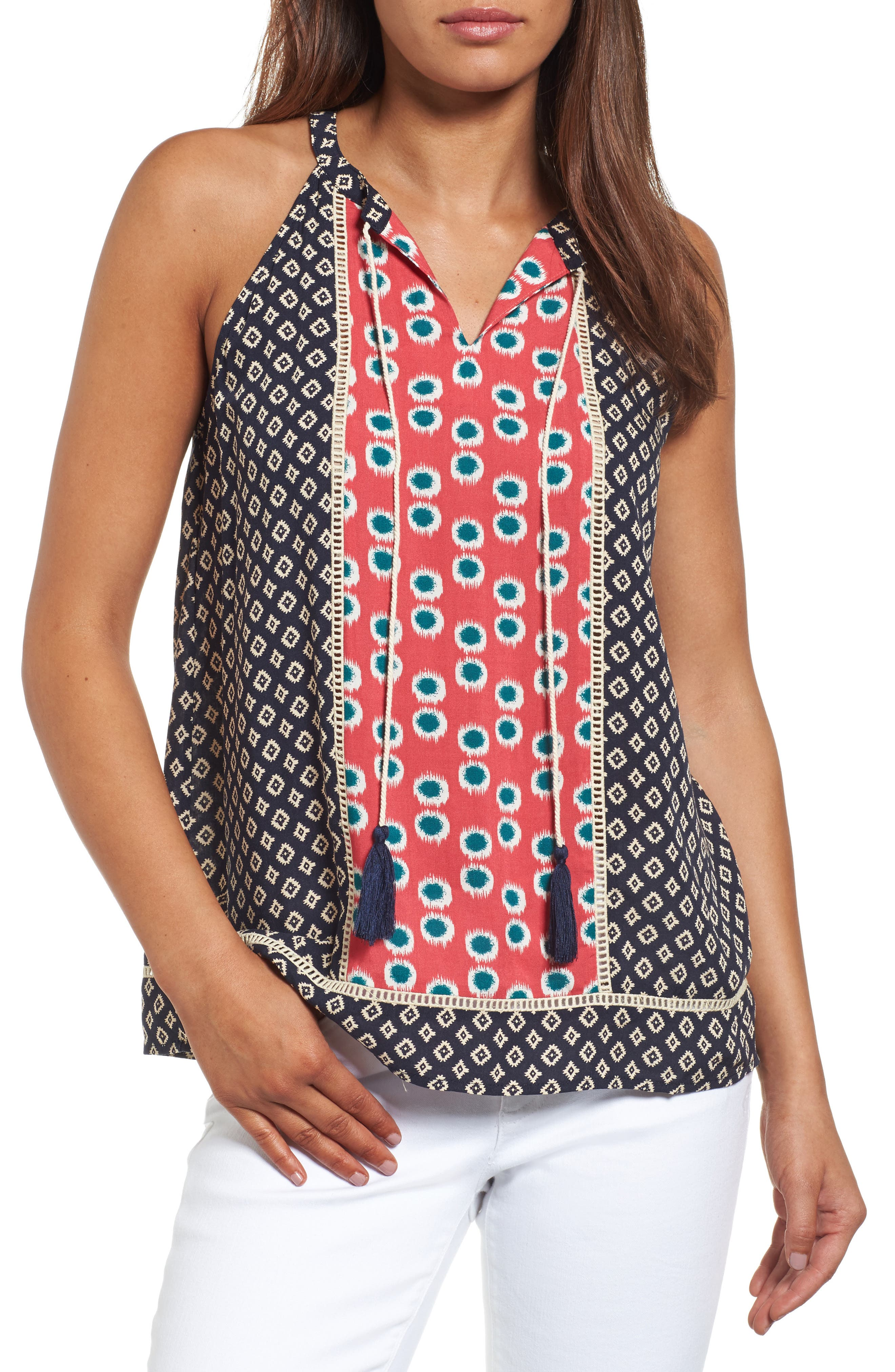 THML Mixed Print Top