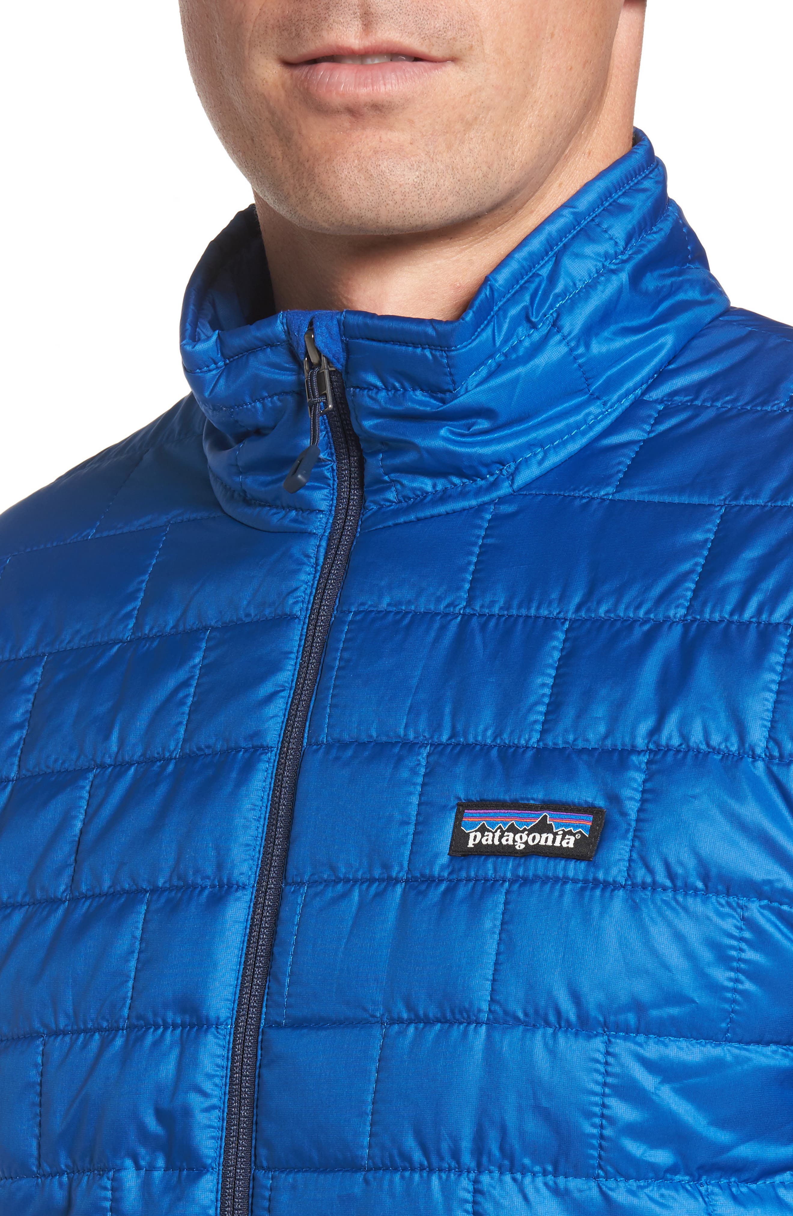 'Nano Puff<sup>®</sup>' Water Resistant Jacket,                             Alternate thumbnail 4, color,                             Viking Blue
