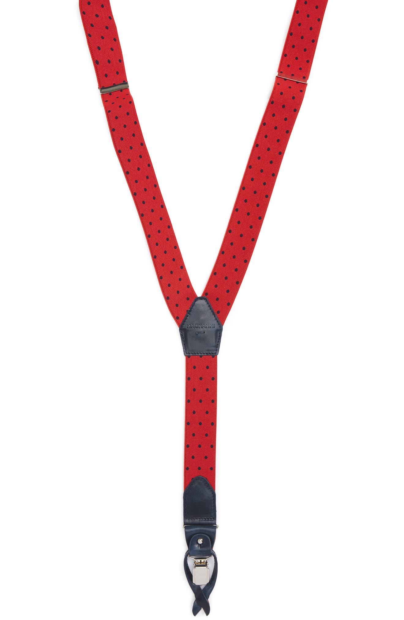 Alternate Image 1 Selected - Magnanni Dot Suspenders