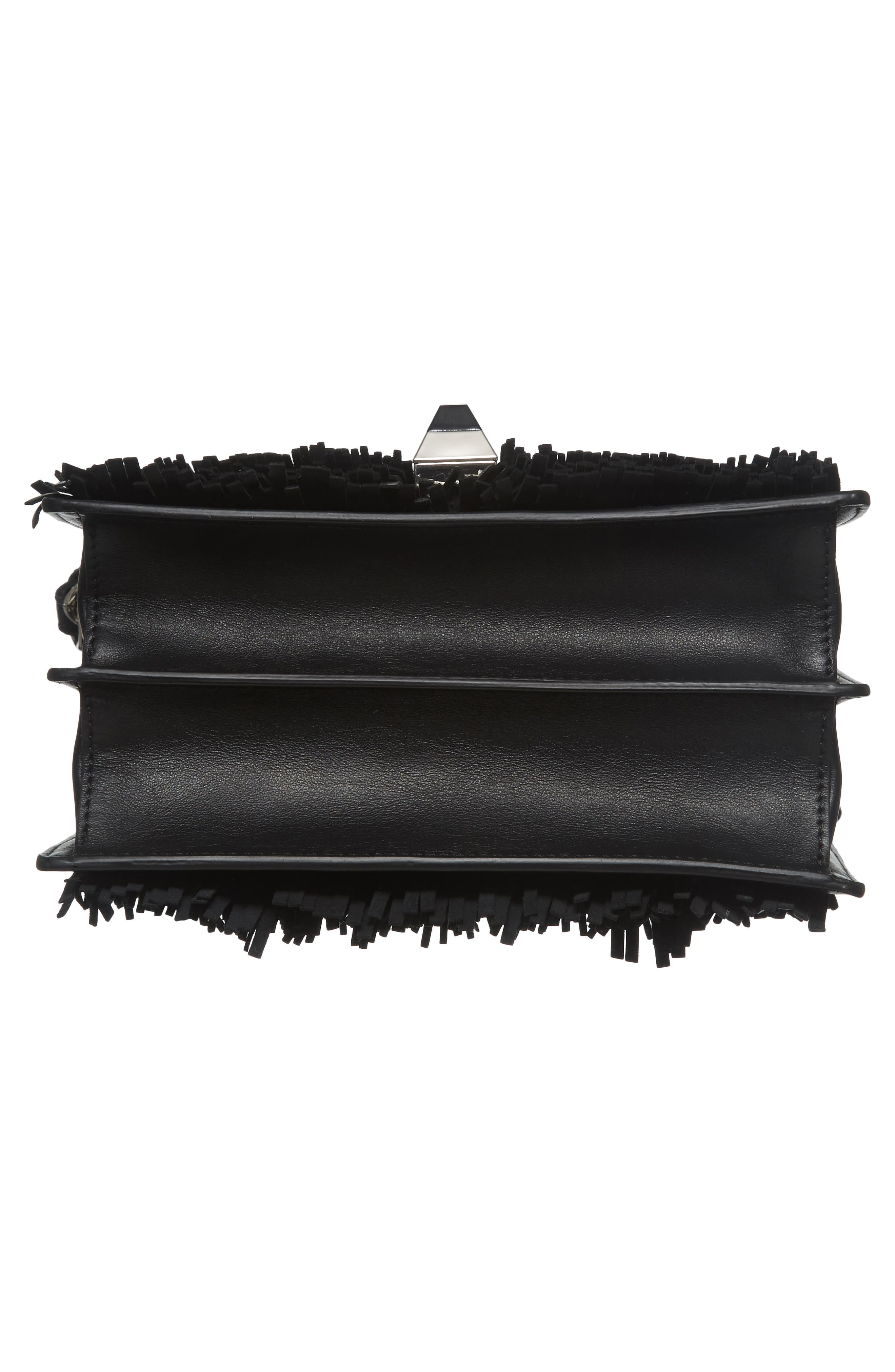 Alternate Image 6  - Fendi Small Kan I Fringe Monster Calfskin Shoulder Bag