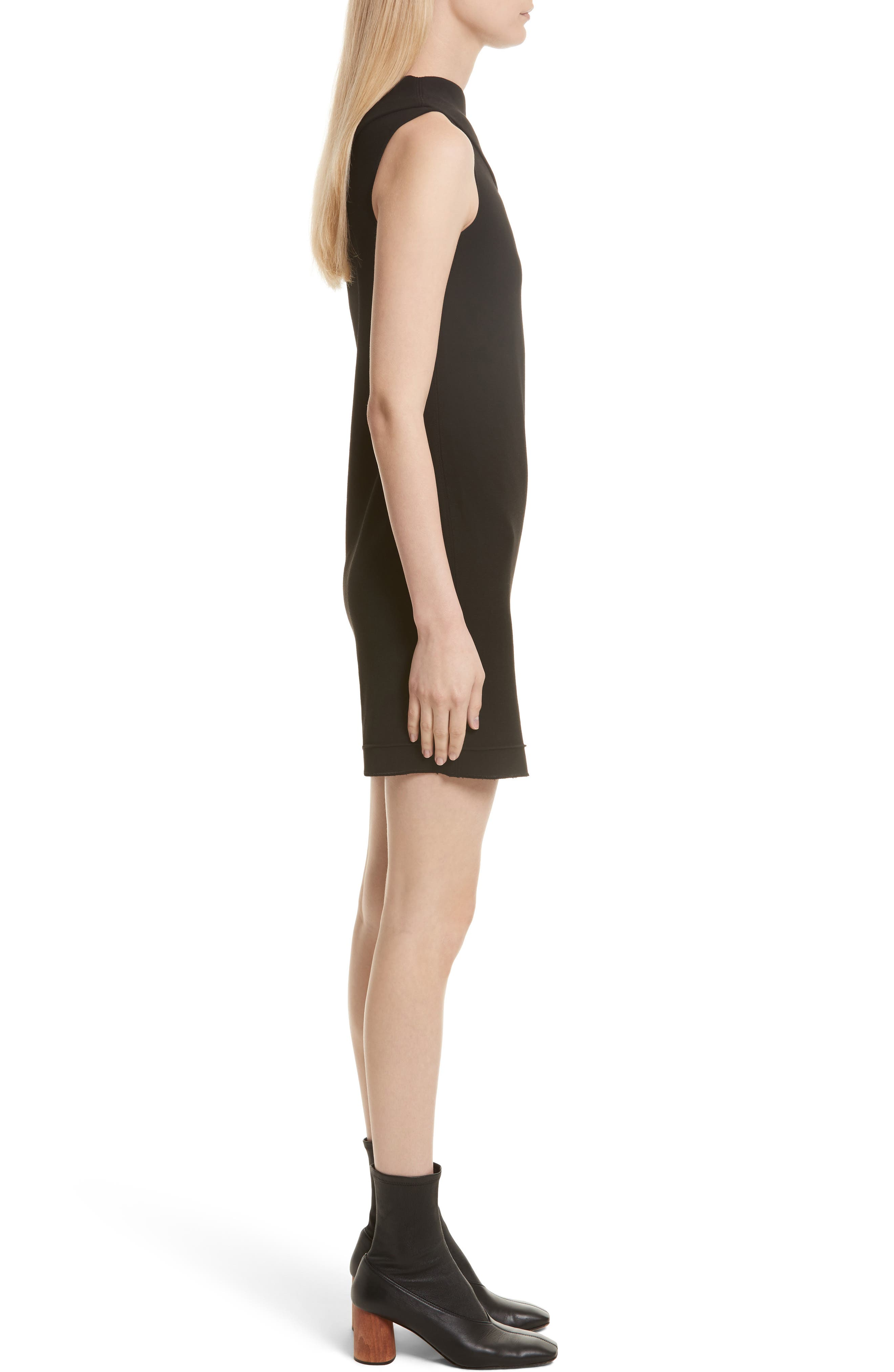 Alternate Image 3  - Helmut Lang Asymmetric Wool Blend Scuba Minidress