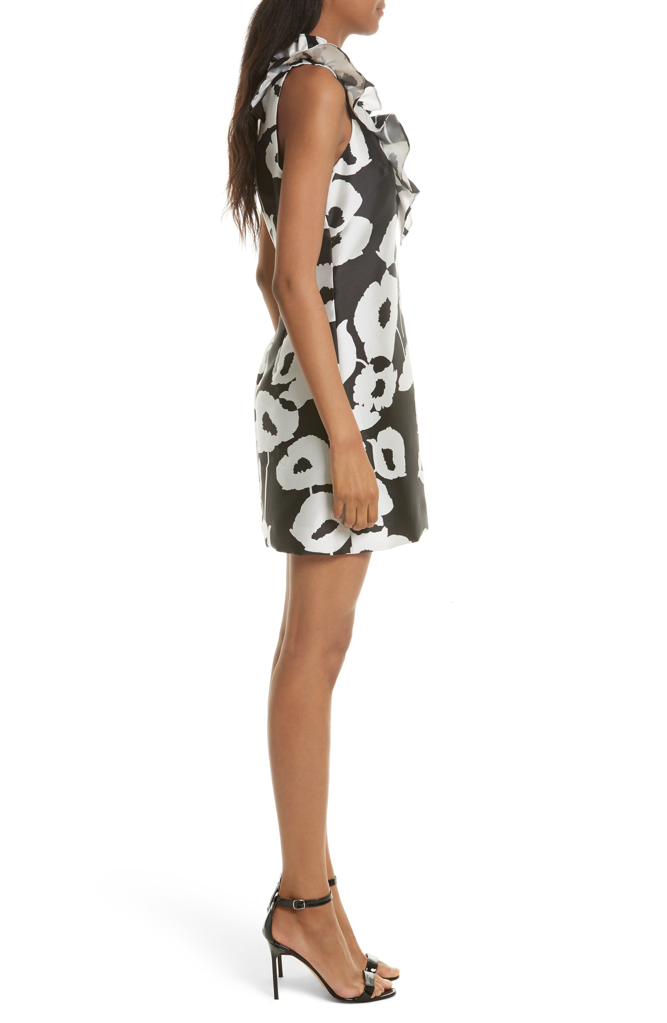 Alternate Image 3  - Milly Sadie Ruffle Poppy Print Dress