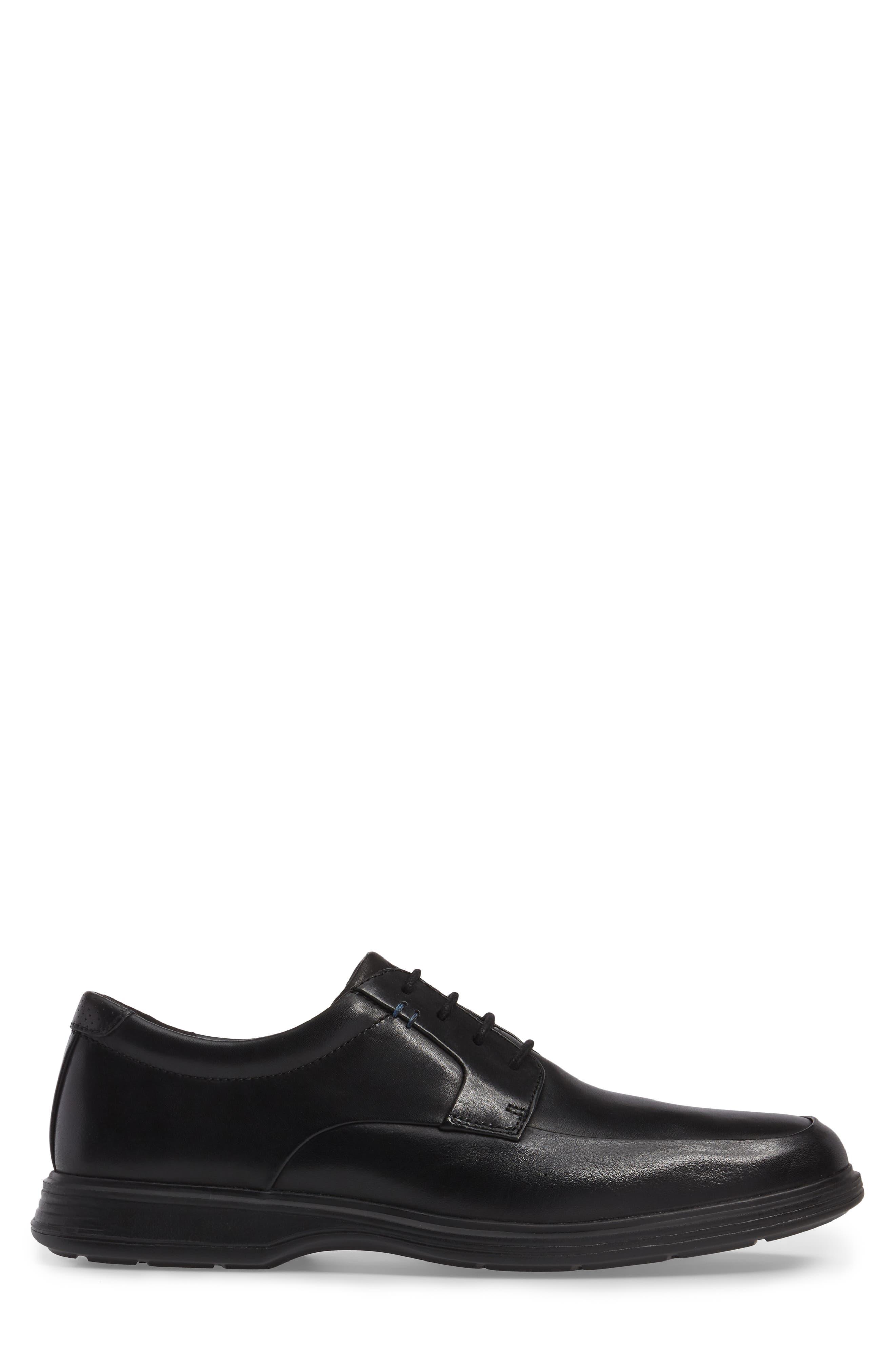 DresSports 2 Lite Apron Toe Derby,                             Alternate thumbnail 3, color,                             Black Leather