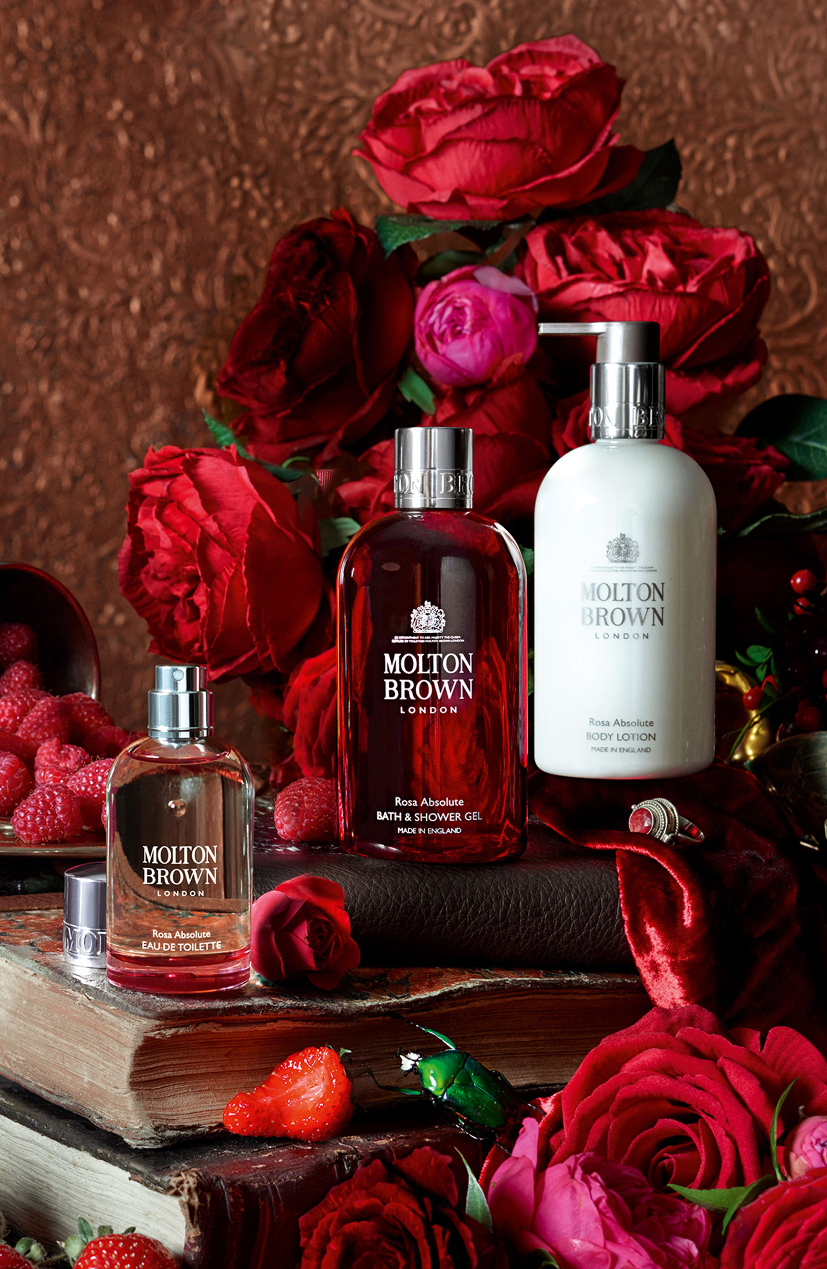 MOLTON BROWN London Rosa Absolute Collection