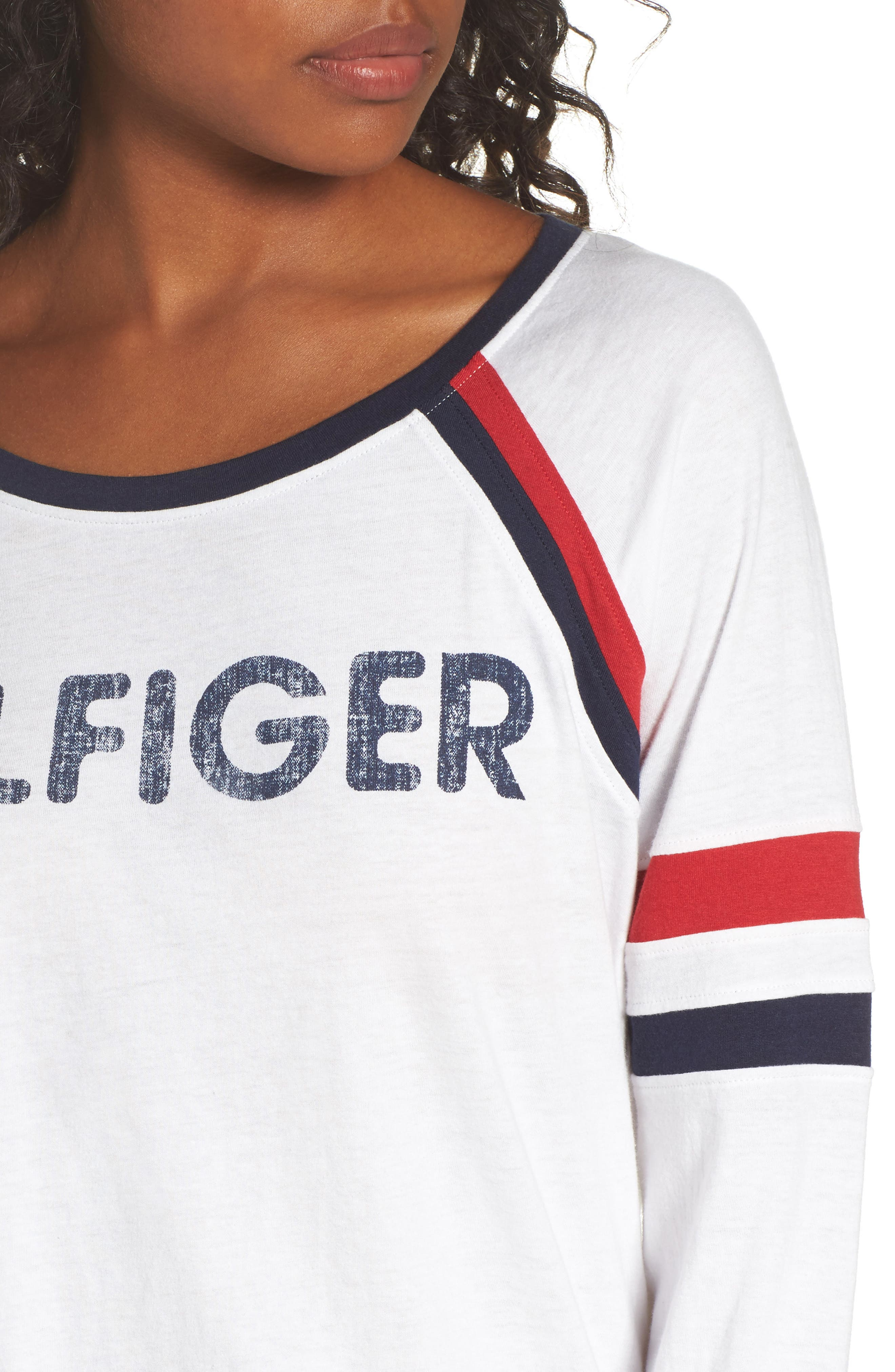 Alternate Image 5  - Tommy Hilfiger TH Logo Tee