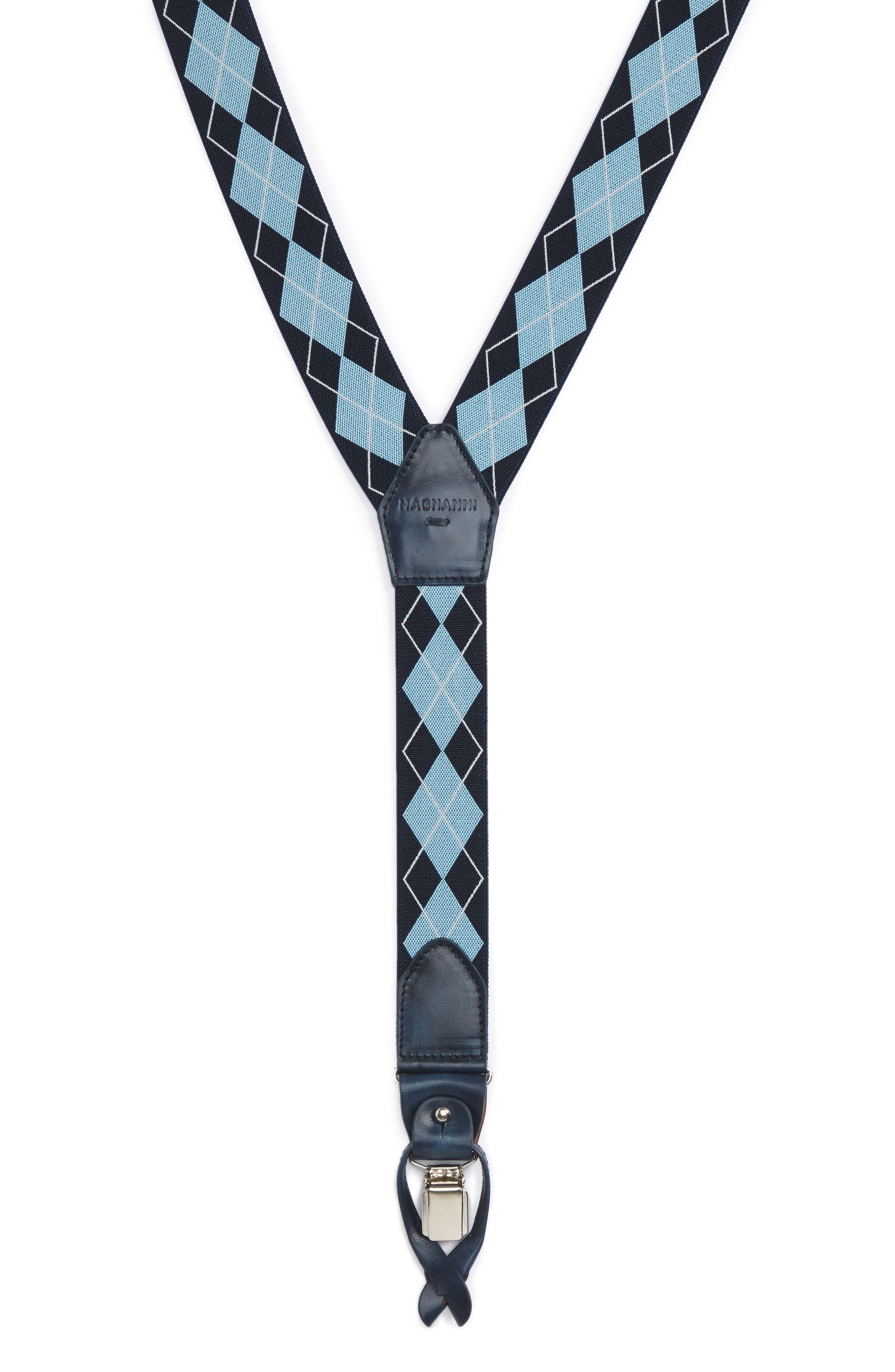 Magnanni Diamond Suspenders
