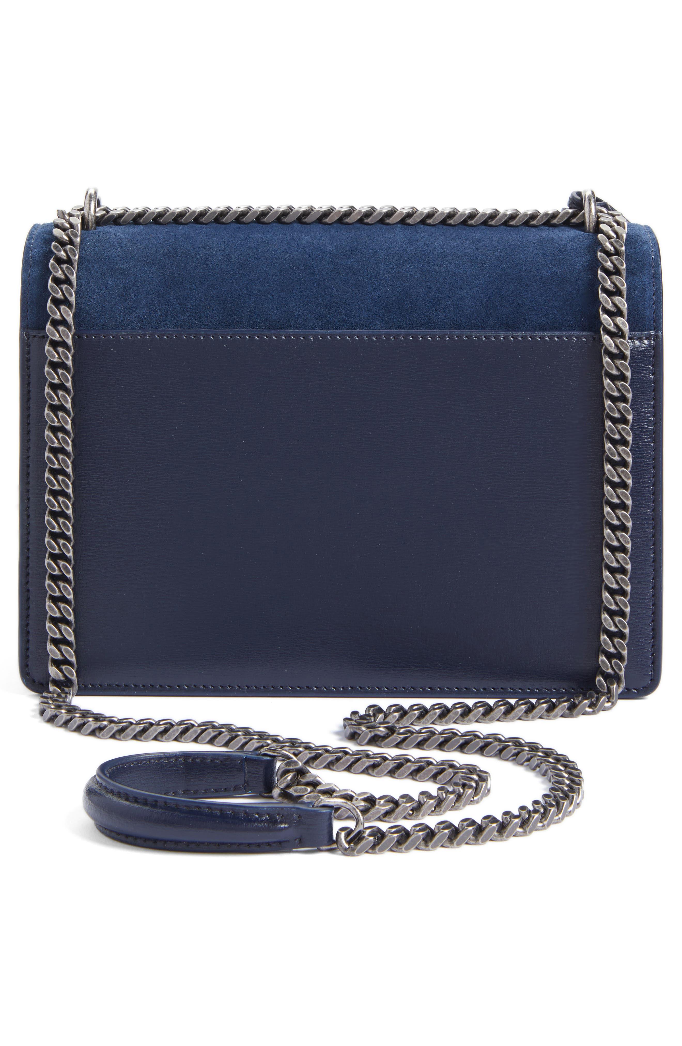 Alternate Image 3  - Saint Laurent Medium Sunset Leather & Suede Shoulder Bag