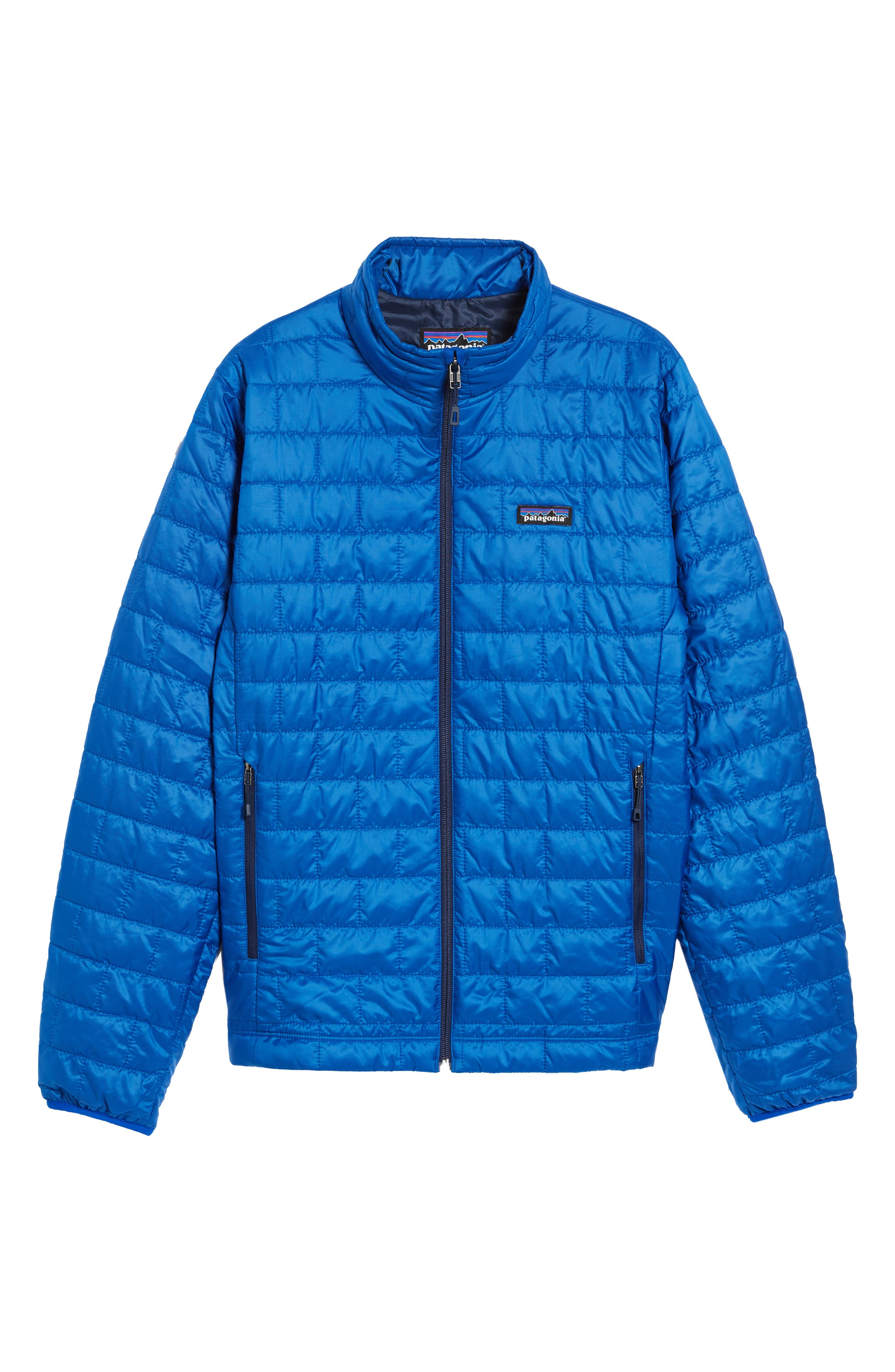'Nano Puff<sup>®</sup>' Water Resistant Jacket,                             Alternate thumbnail 5, color,                             Viking Blue