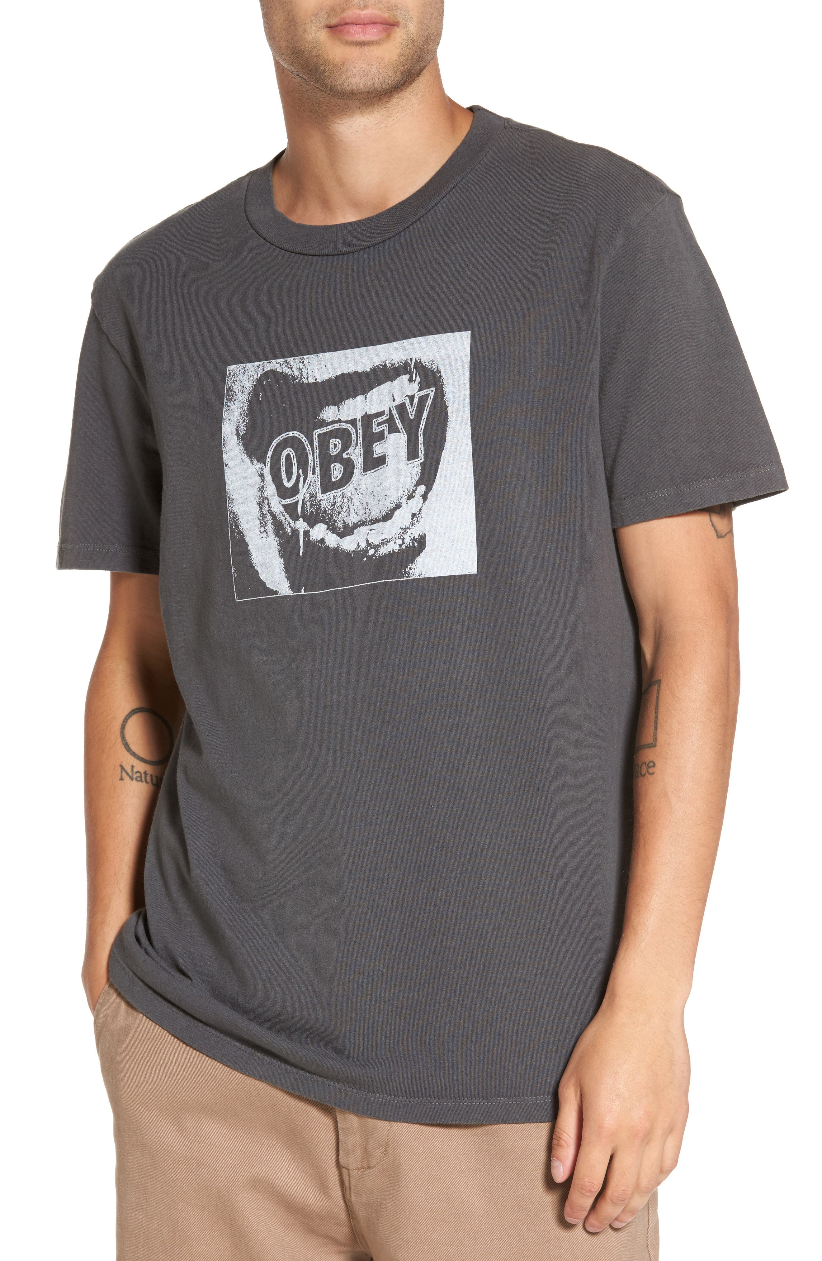 OBEY Screamer Graphic T-Shirt