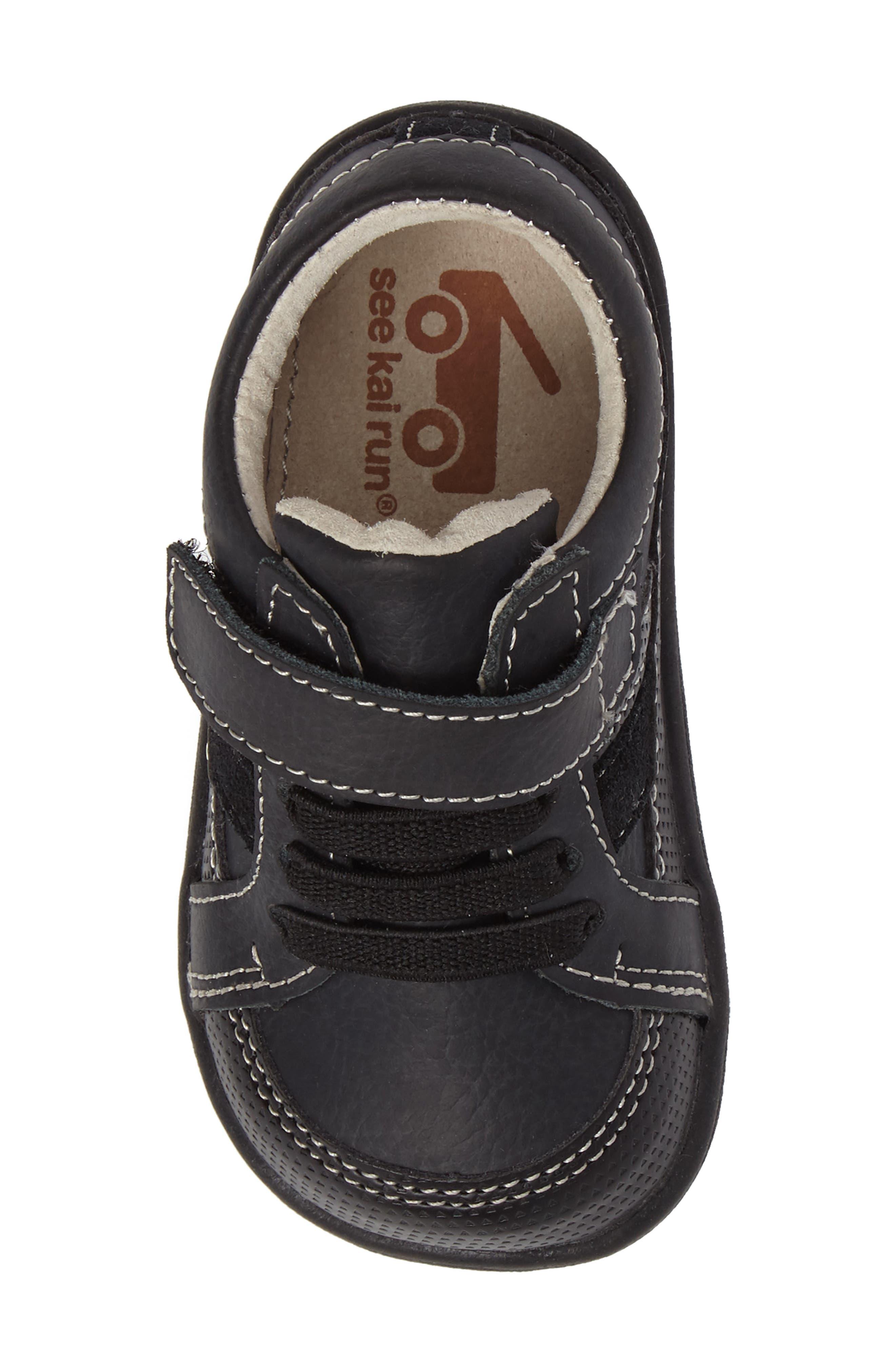 Randall II Sneaker,                             Alternate thumbnail 5, color,                             Black