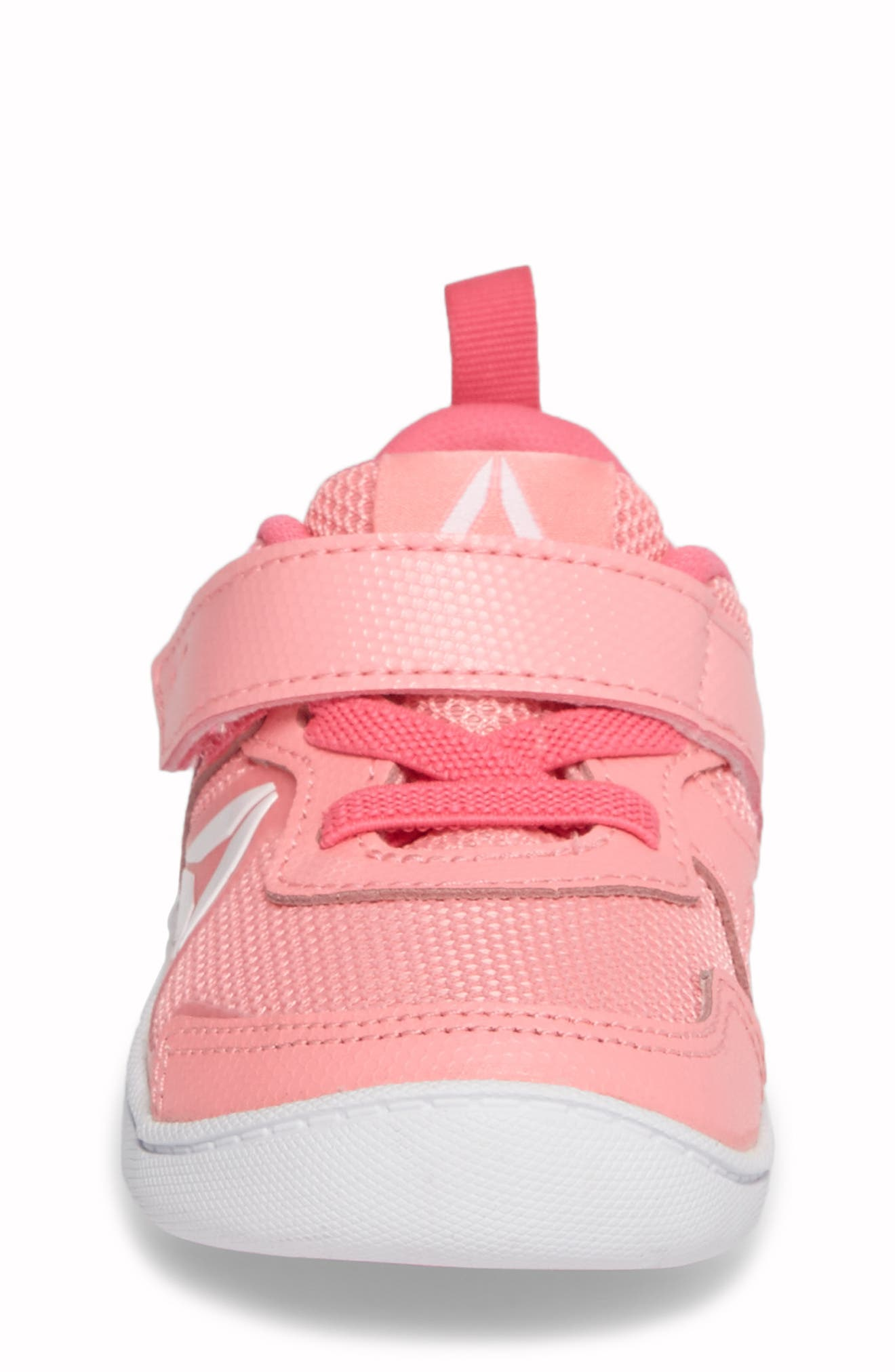 Ventureflex Stride 5.0 Sneaker,                             Alternate thumbnail 4, color,                             Peppy Pink/ Solar Pink/ White